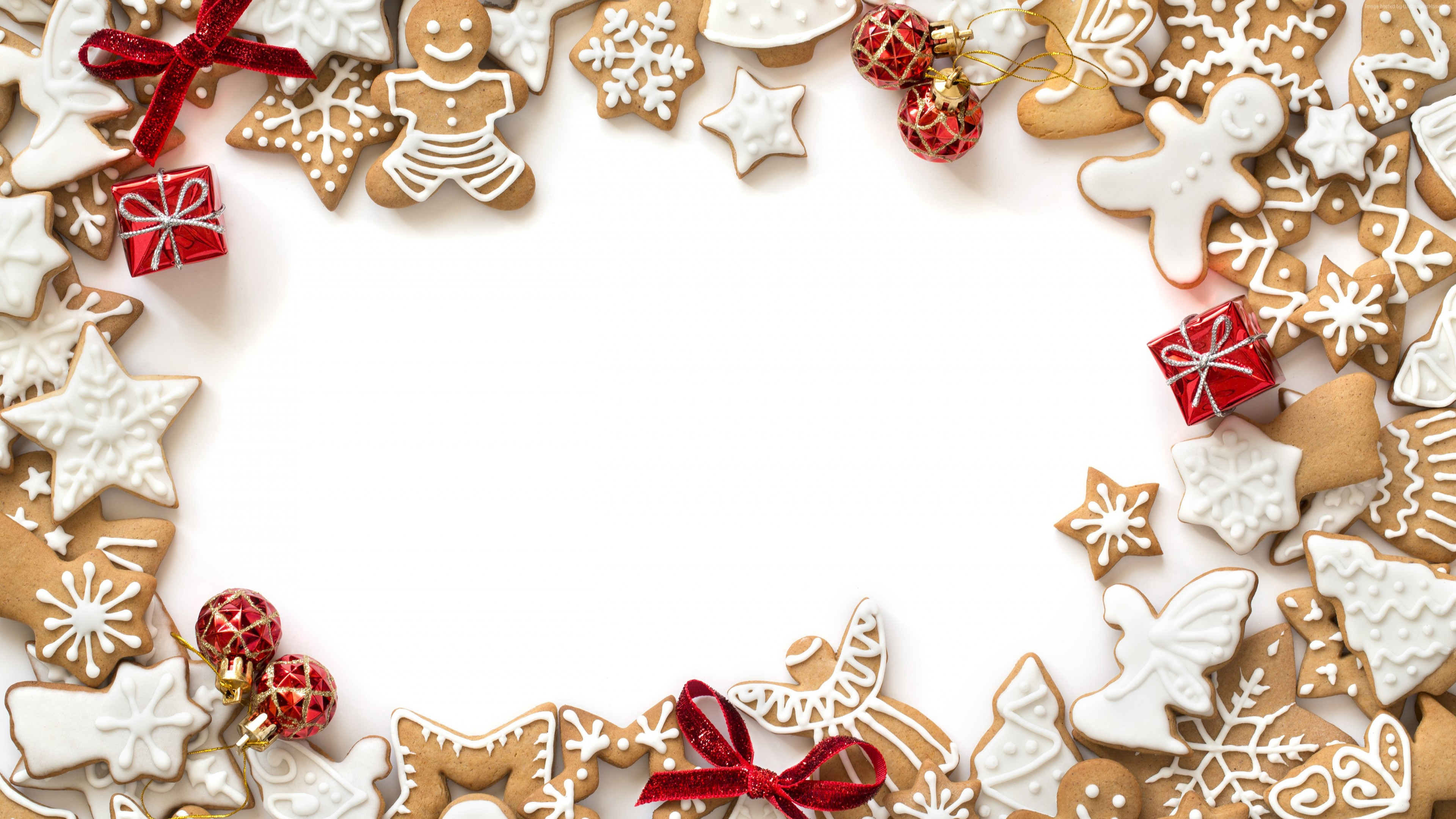 Wallpaper Christmas, New Year, cake, 5k, Holidays