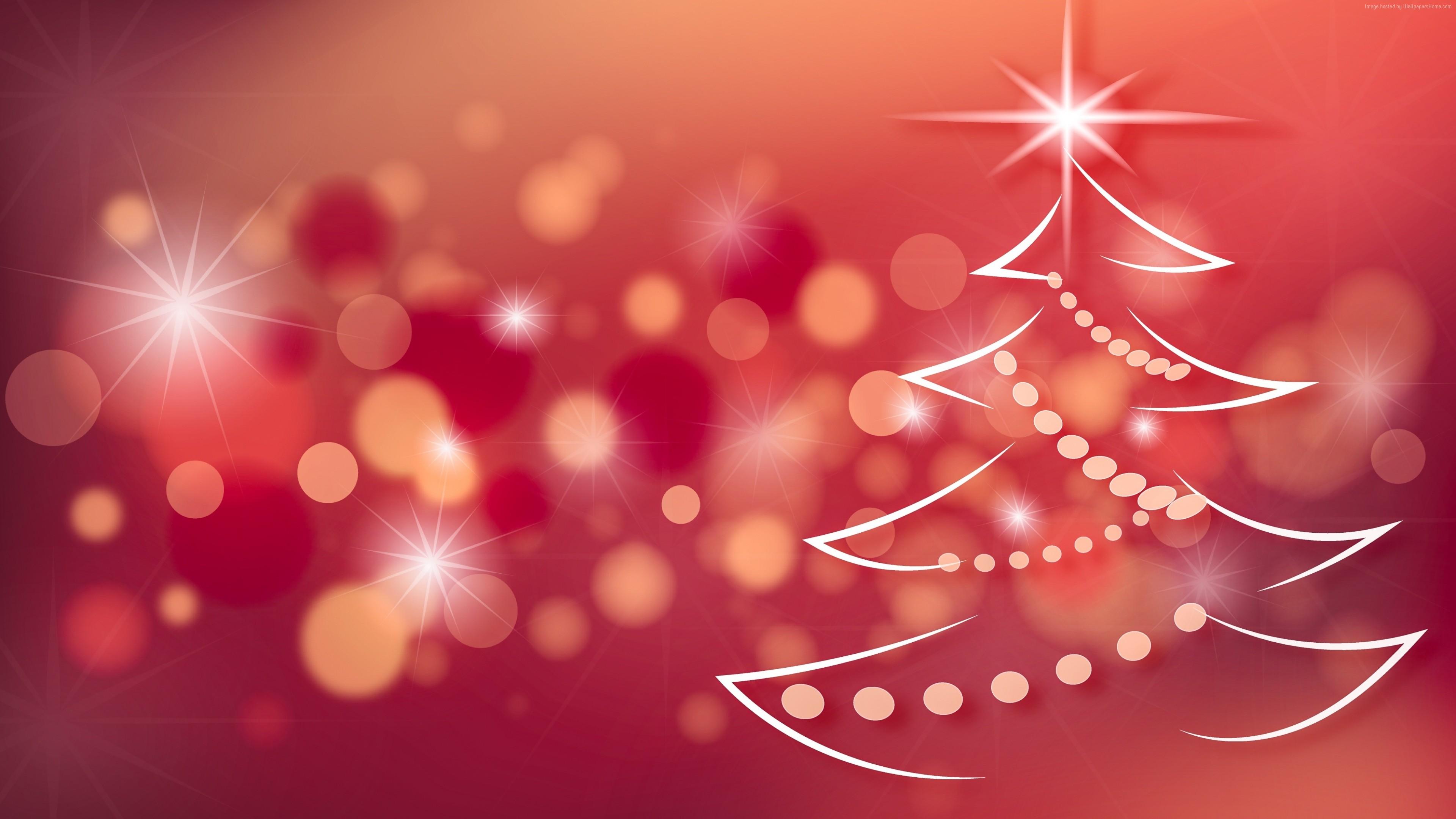 wallpaper christmas, new year, fir-tree, , 4k, holidays 4k
