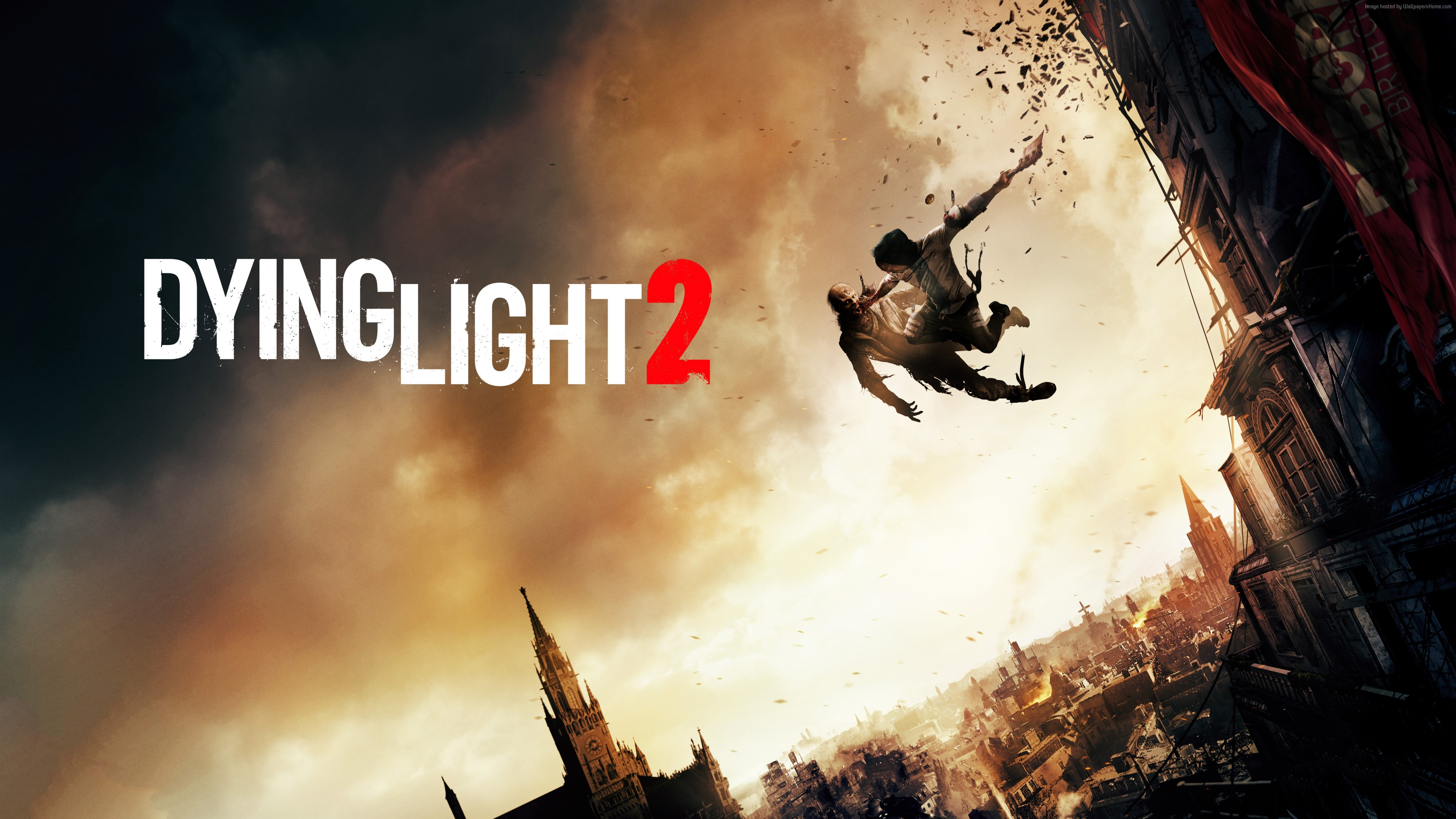 Wallpaper Dying Light 2, E3 2018, poster, 8K, Games