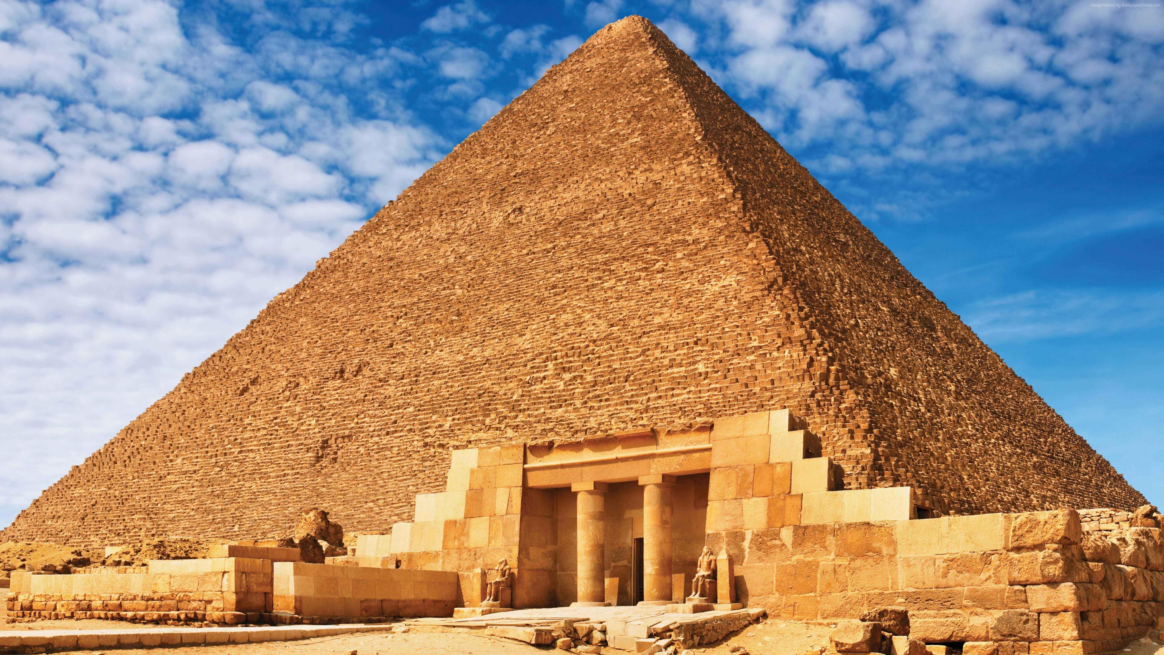 Wallpaper Egypt Pyramid 8k Travel Download
