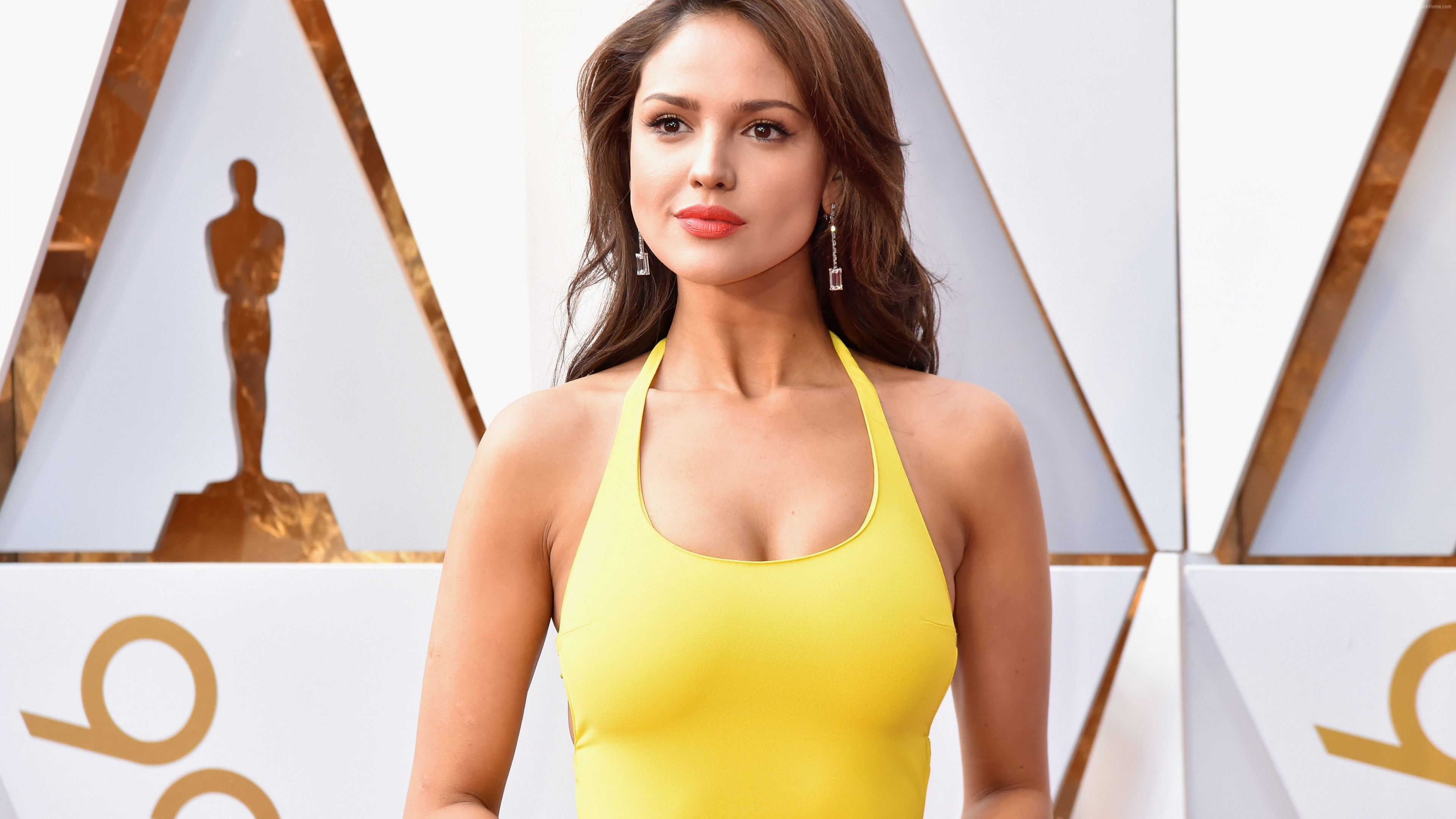Wallpaper Eiza Gonzales, Oscar 2018, photo, 4k, Celebrities