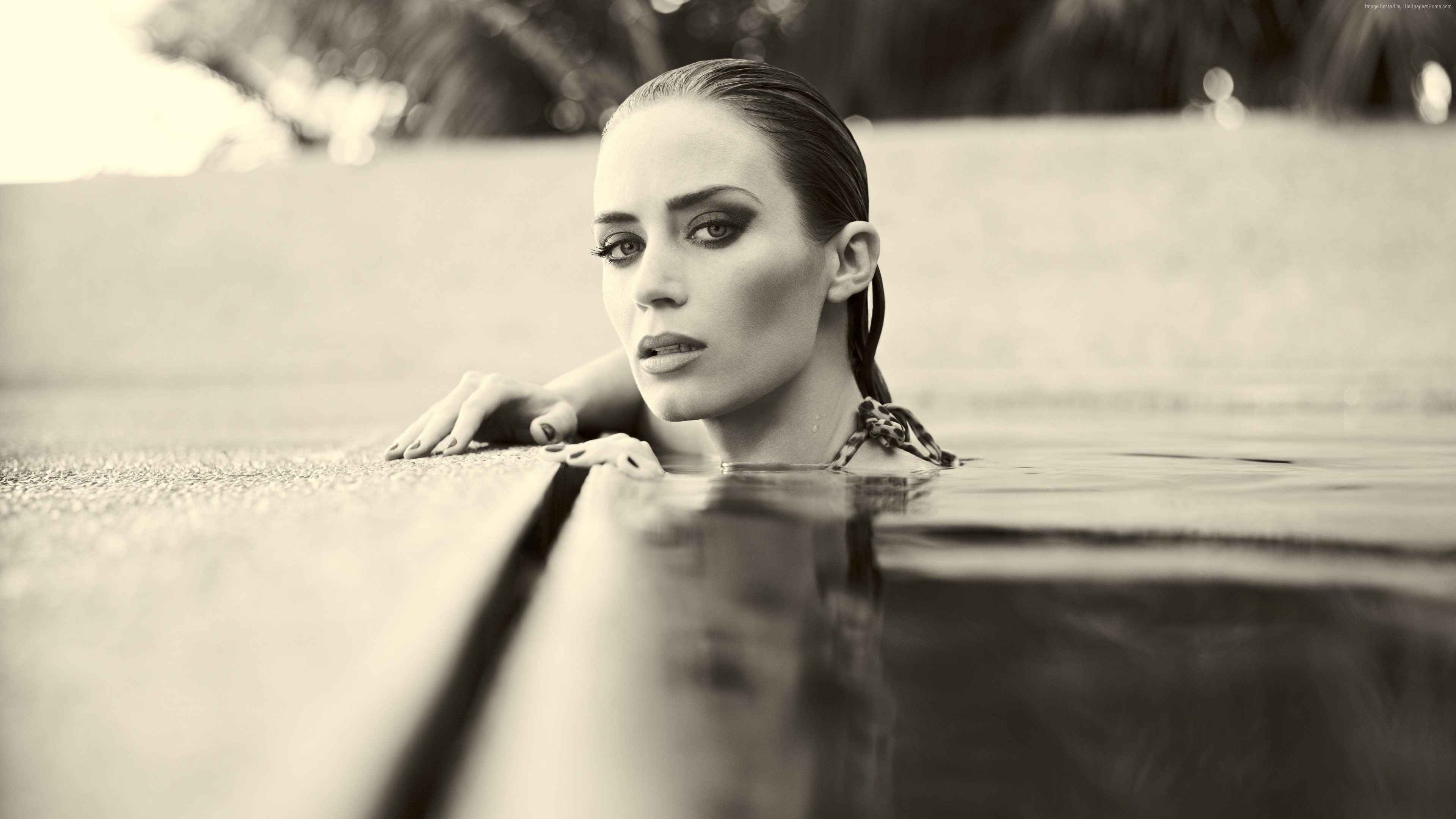 Wallpaper Emily Blunt, hot, 8k, Celebrities
