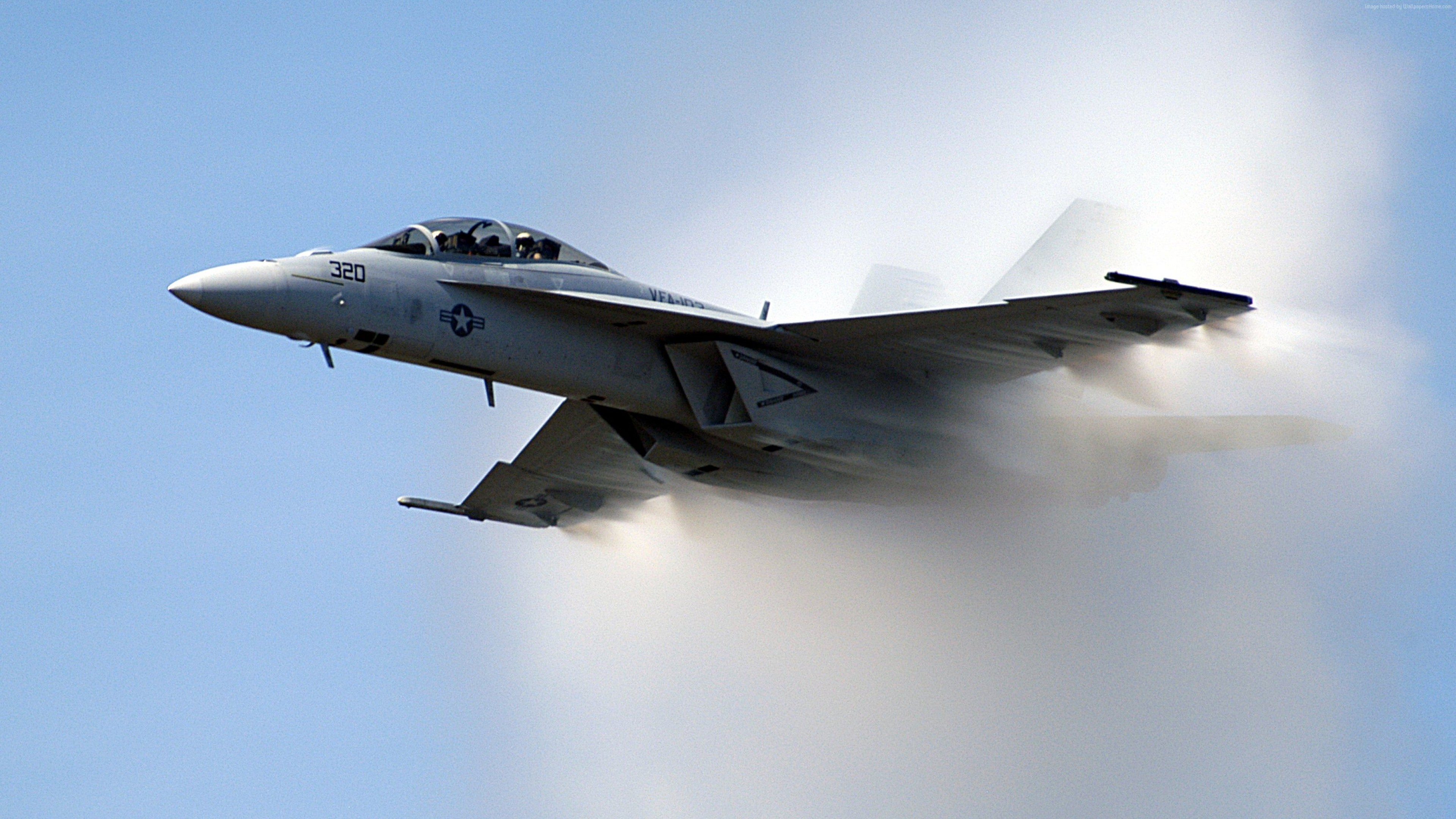 Wallpaper F-18, fighter aircraft, U.S. Airforce, Military