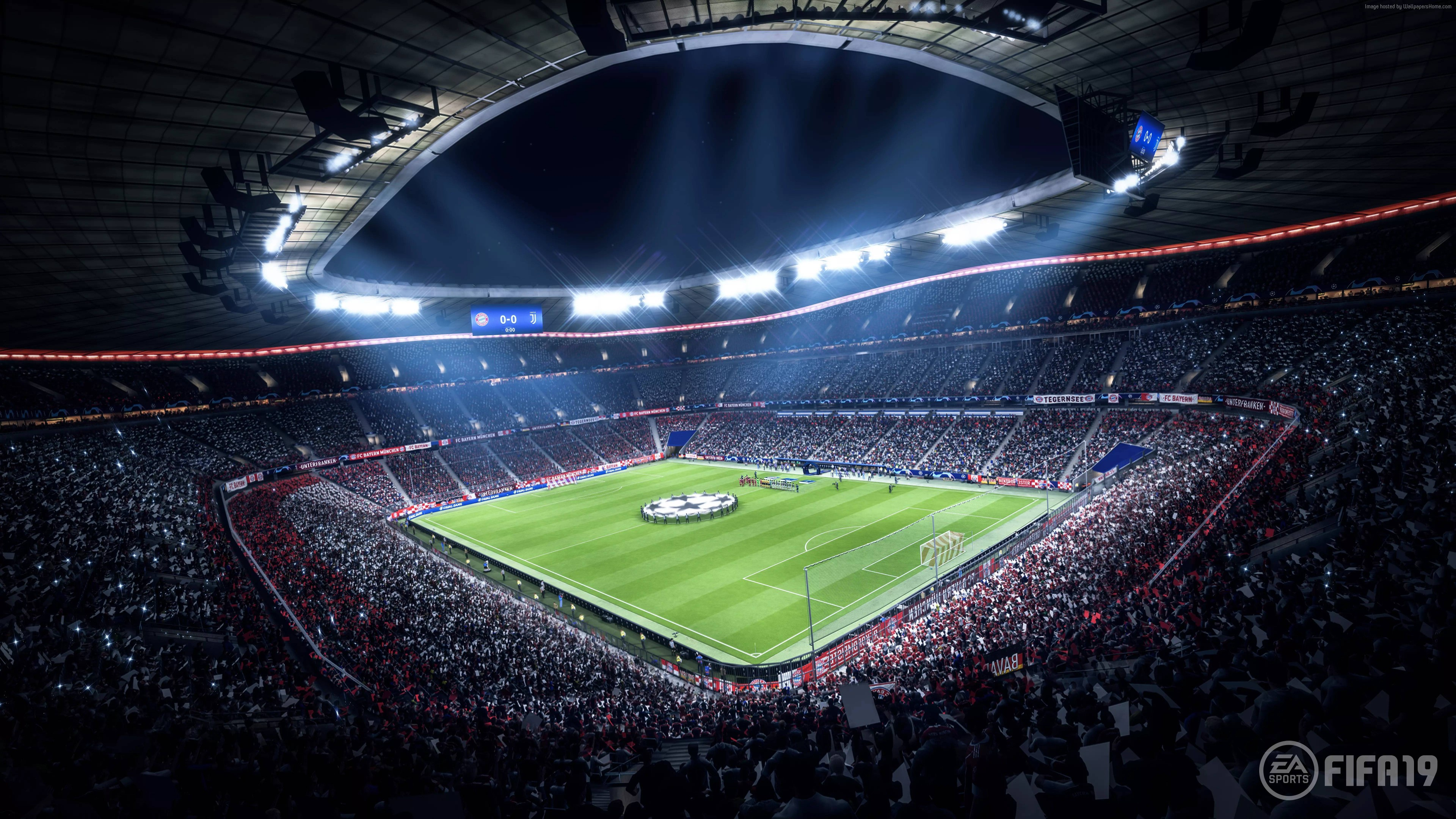 Wallpaper FIFA 19 E3 2018 Screenshot 8K Games 8k Download