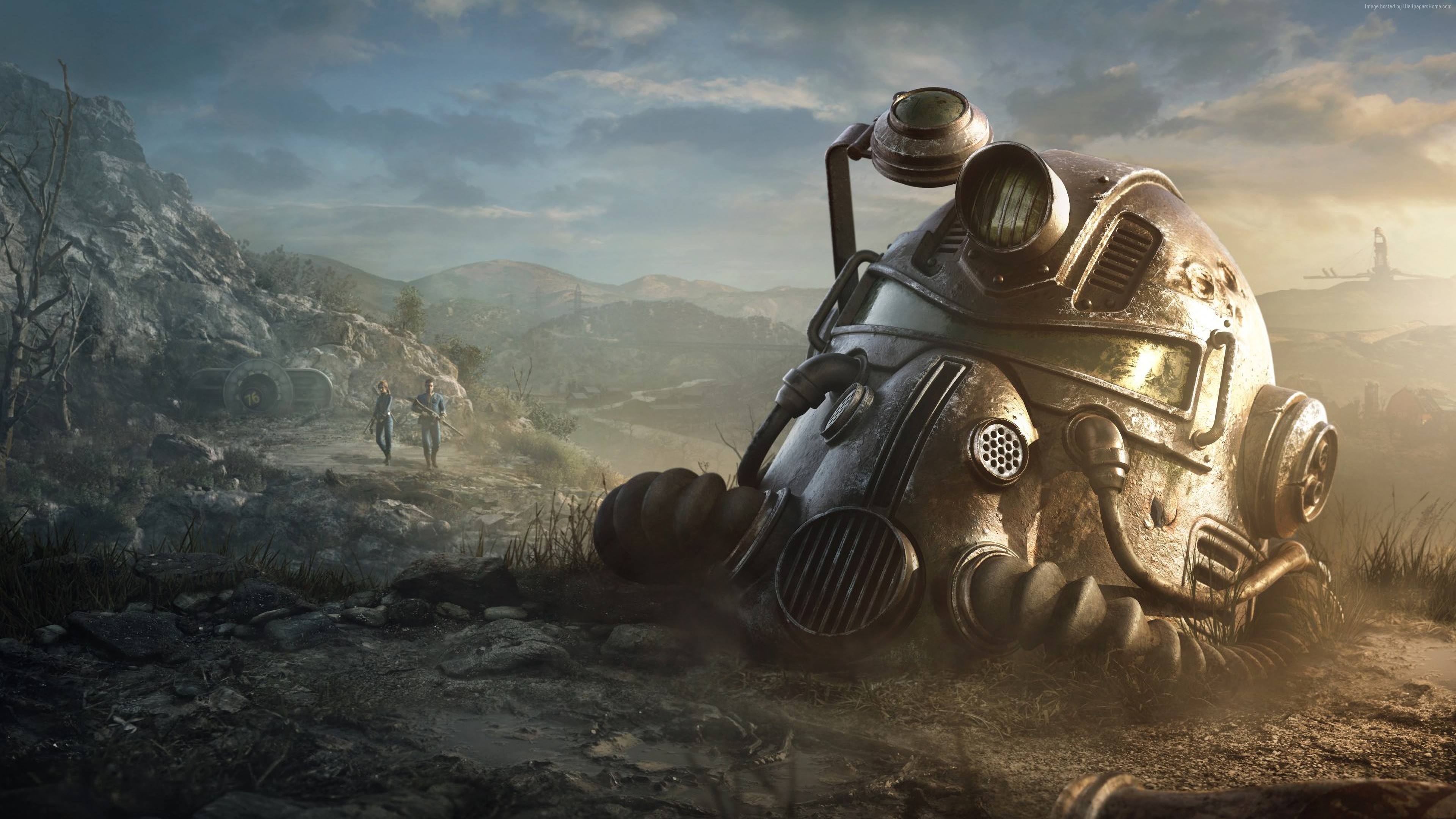 Wallpaper Fallout 76 Poster 4k Games Wallpaper Download High Resolution 4k Wallpaper