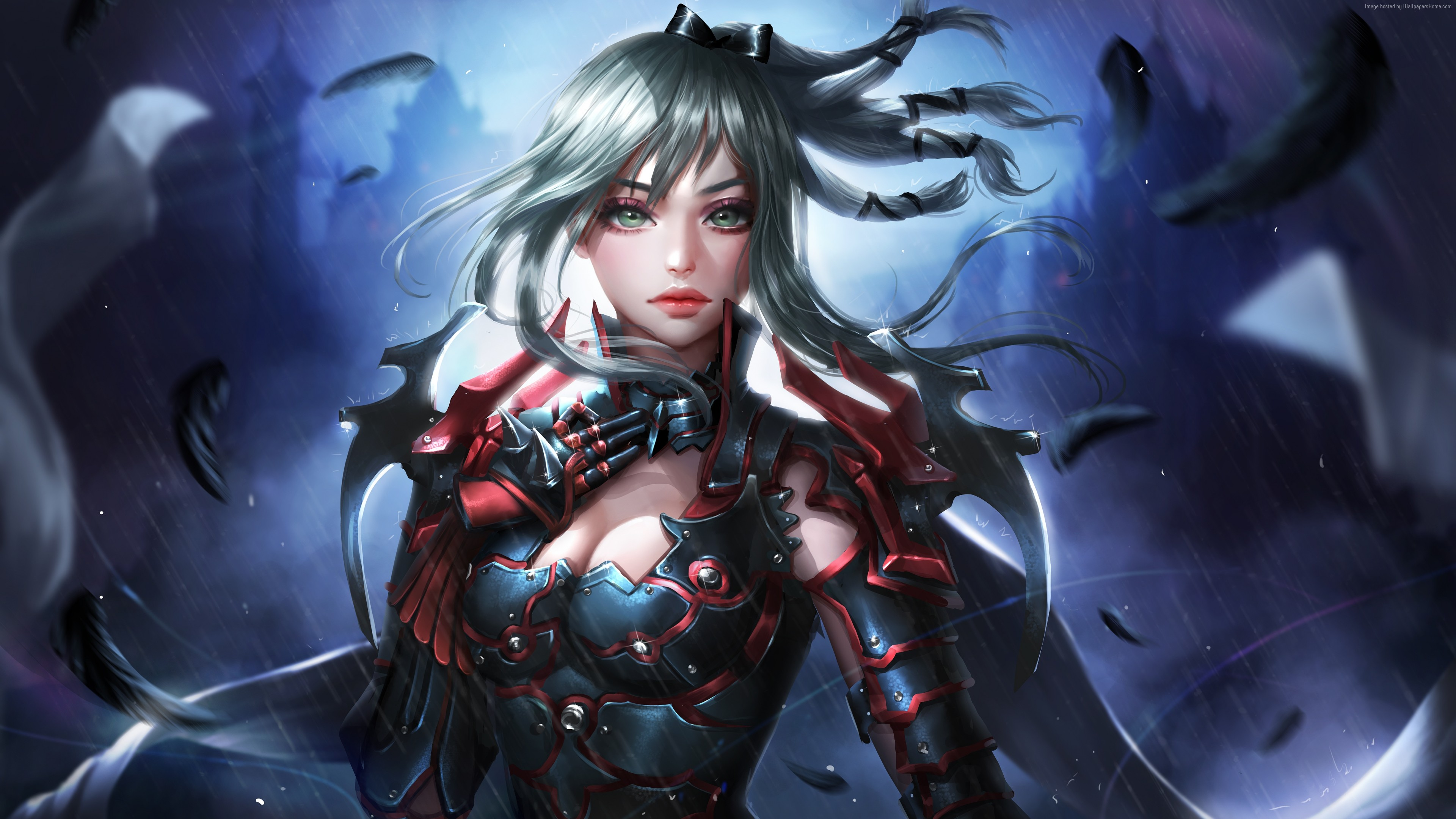 Wallpaper Final Fantasy XV Windows Edition Aranea Highwind 4K 5K Art 4k 5k Download