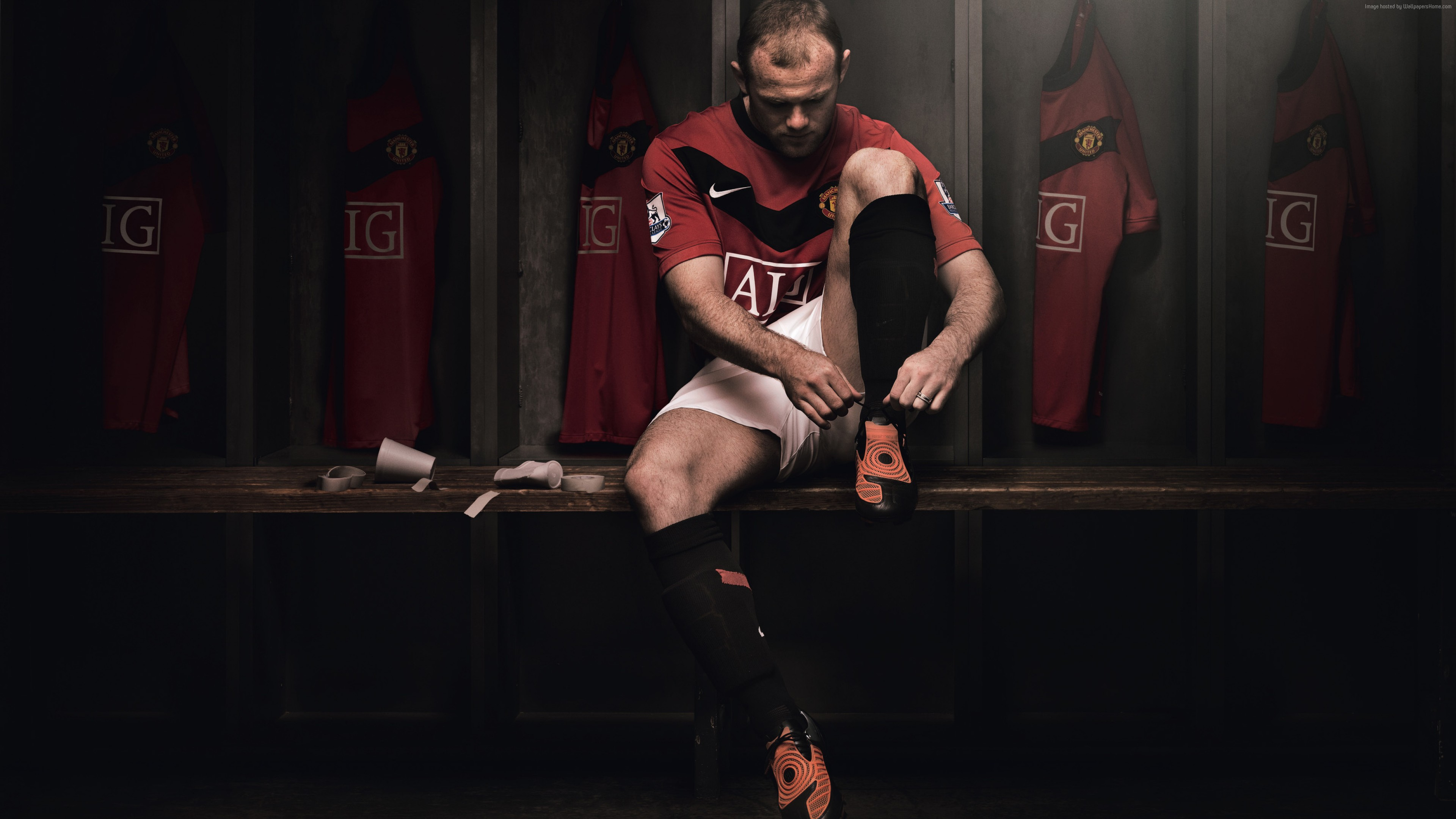 Wallpaper Football, Wayne Rooney, The best football players, Manchester United, Sport