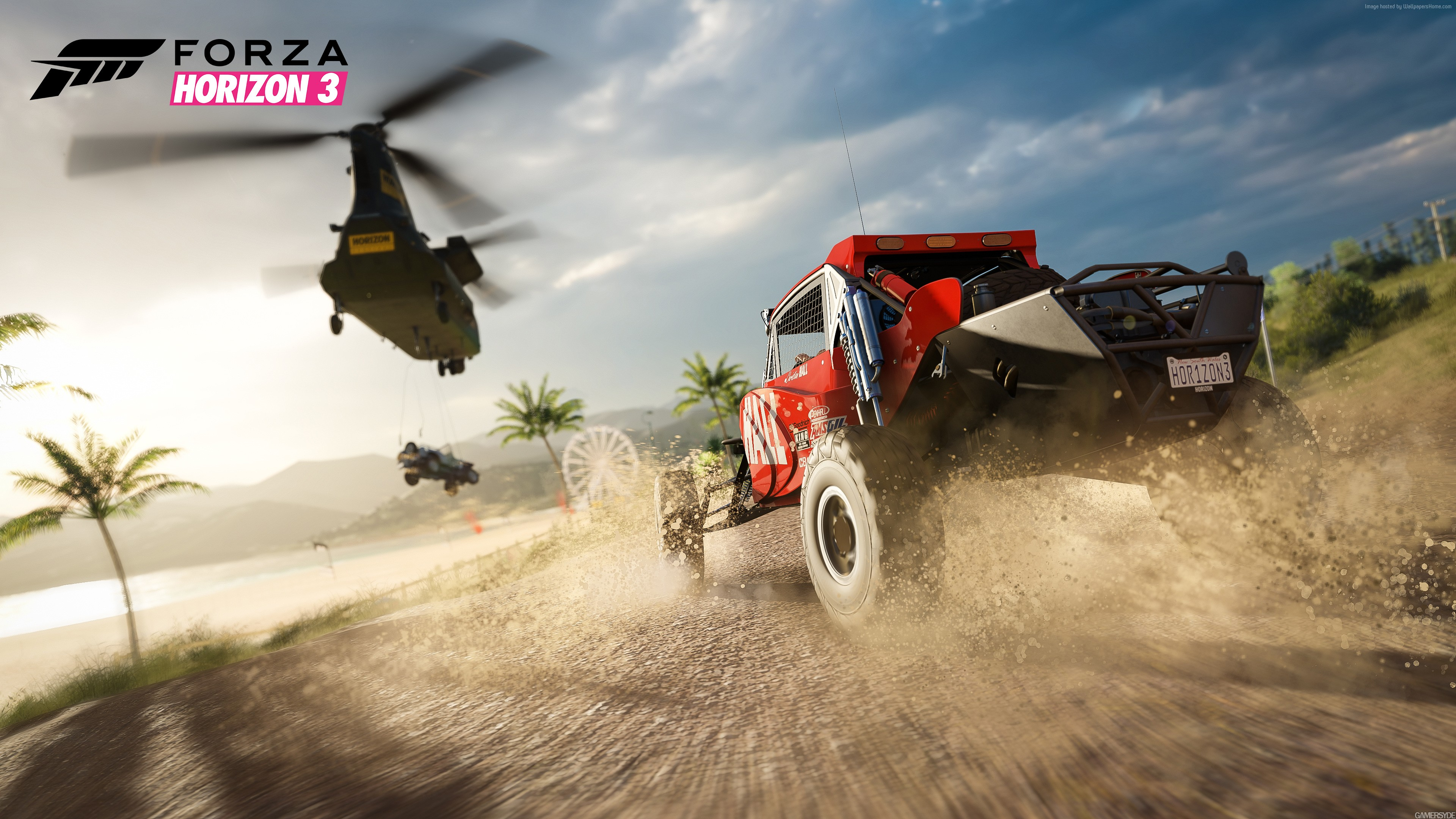 Wallpaper Forza Horizon 3, racing, extreme, E3 2016, best games, PlayStation 4, Xbox One, Windows, Best Games, Sport