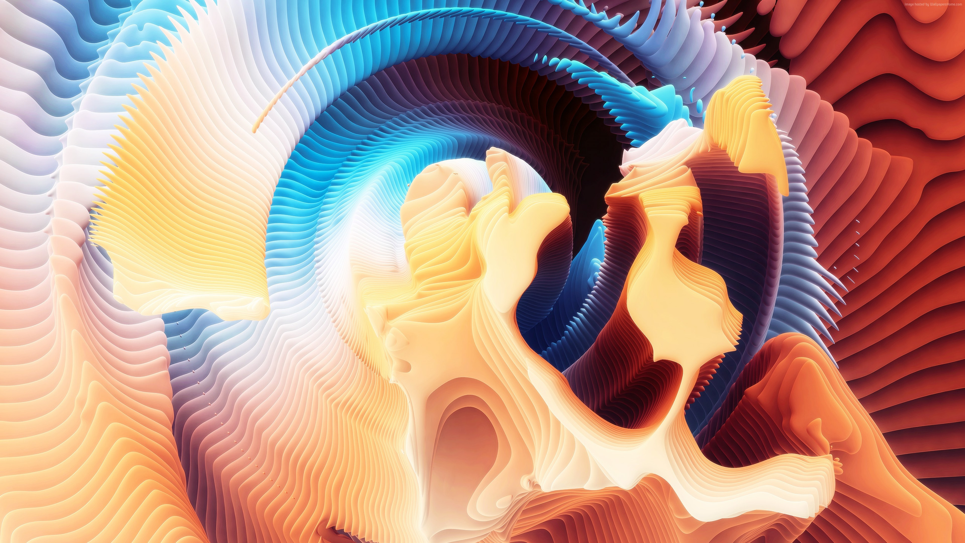 Wallpaper HD, Spirals, abstract, Abstract