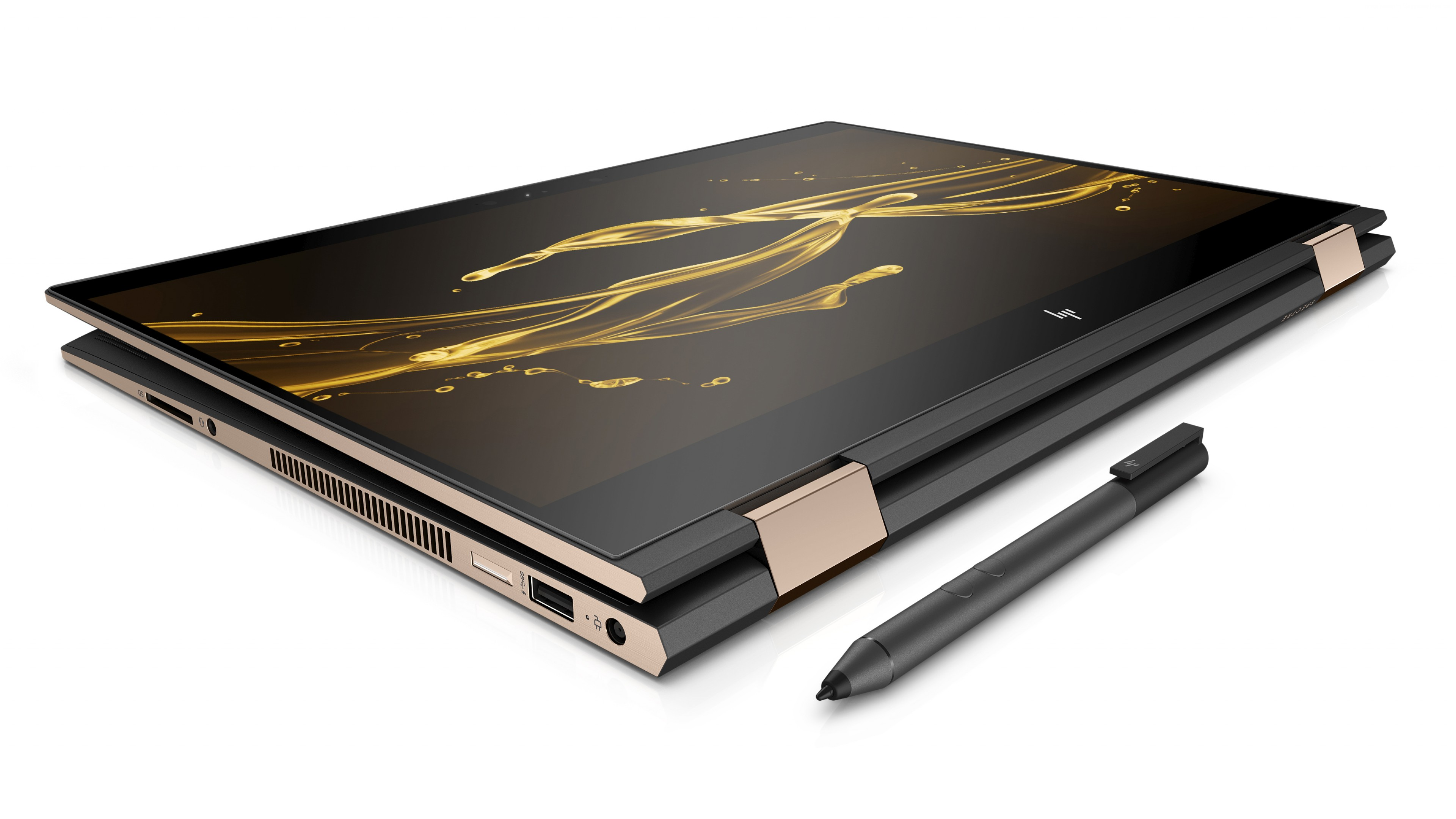 Wallpaper HP Spectre x360 15, CES 2018, 4k, Hi-Tech