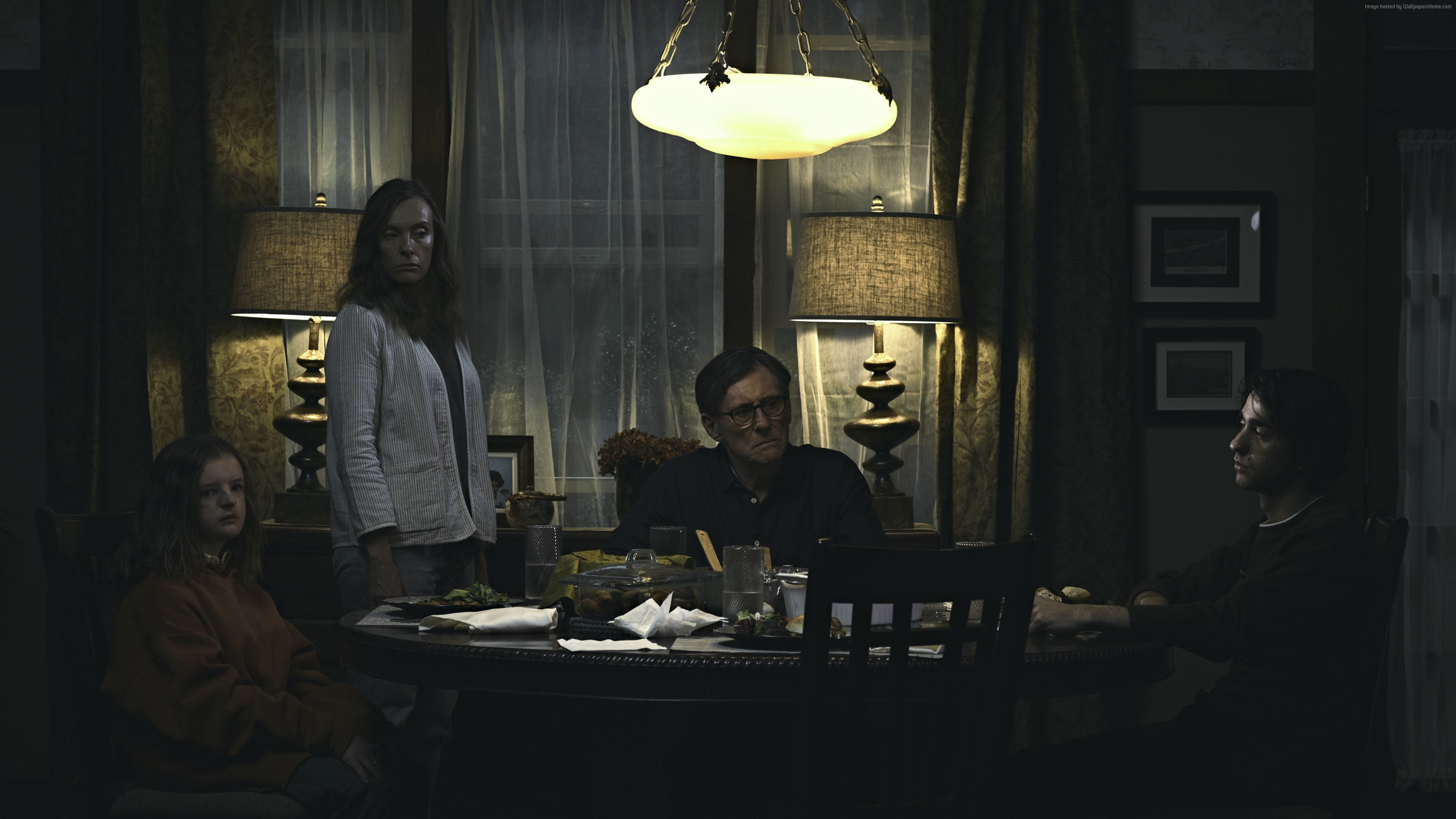 Wallpaper Hereditary, Toni Collette, Gabriel Byrne, Alex Wolff, 4K, Movies