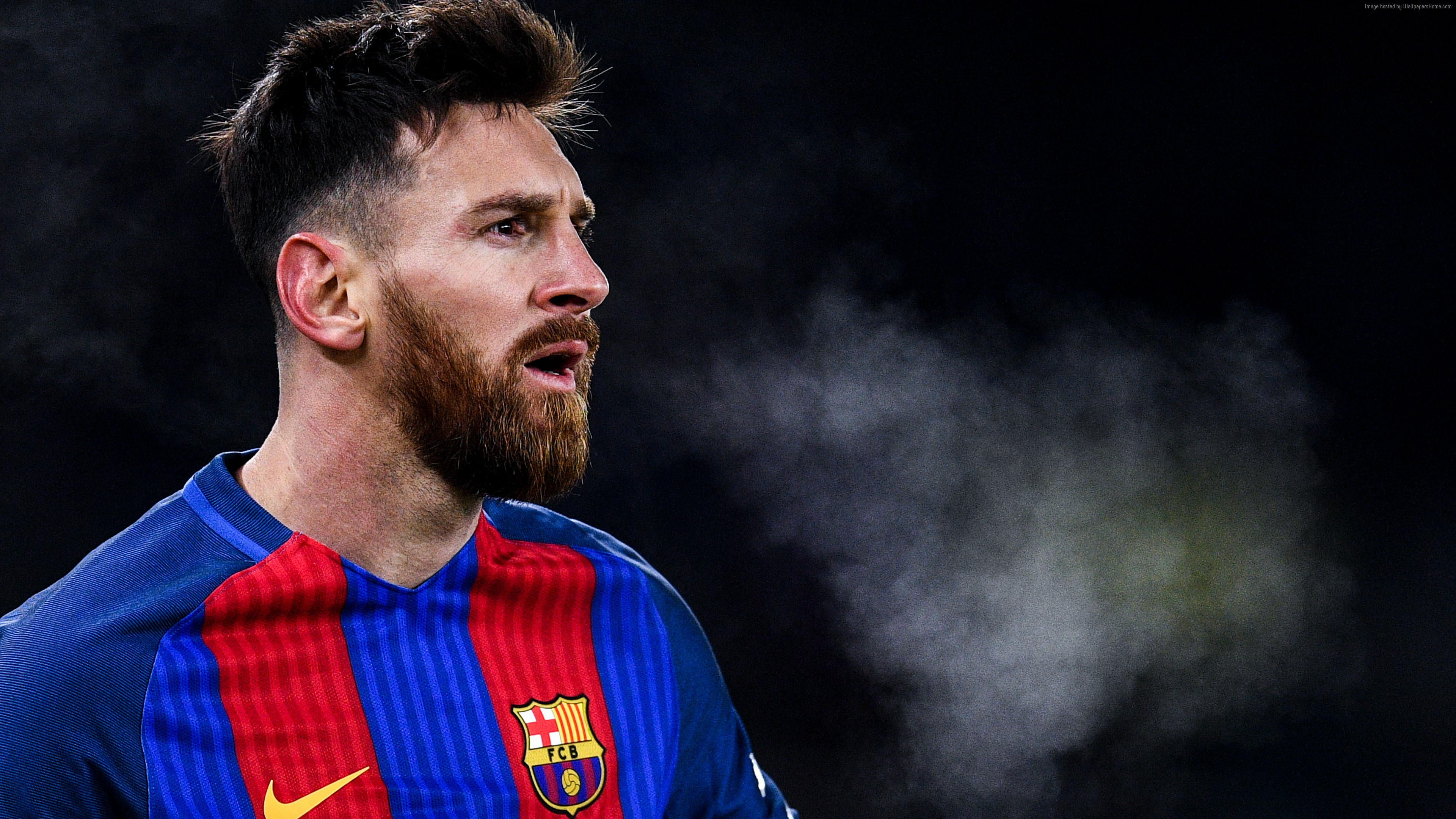 Wallpaper Lionel Messi Soccer Football The Best Players 2016 4k Sport Download