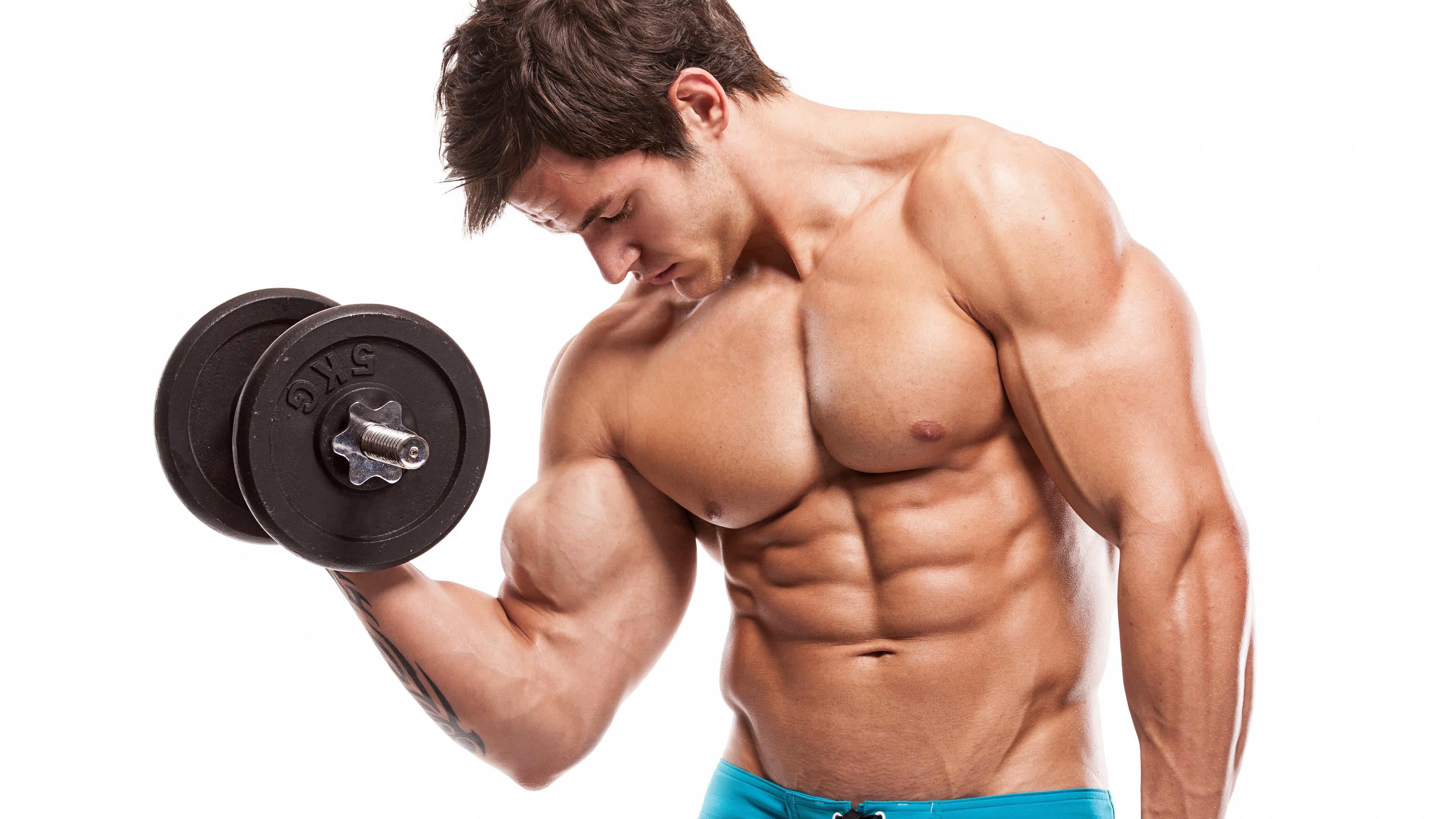 Wallpaper Man Stronger Body Bodybuilding Exercise Motivation Training Bench Standing Barbell Sport Wallpaper Download High Resolution 4k Wallpaper