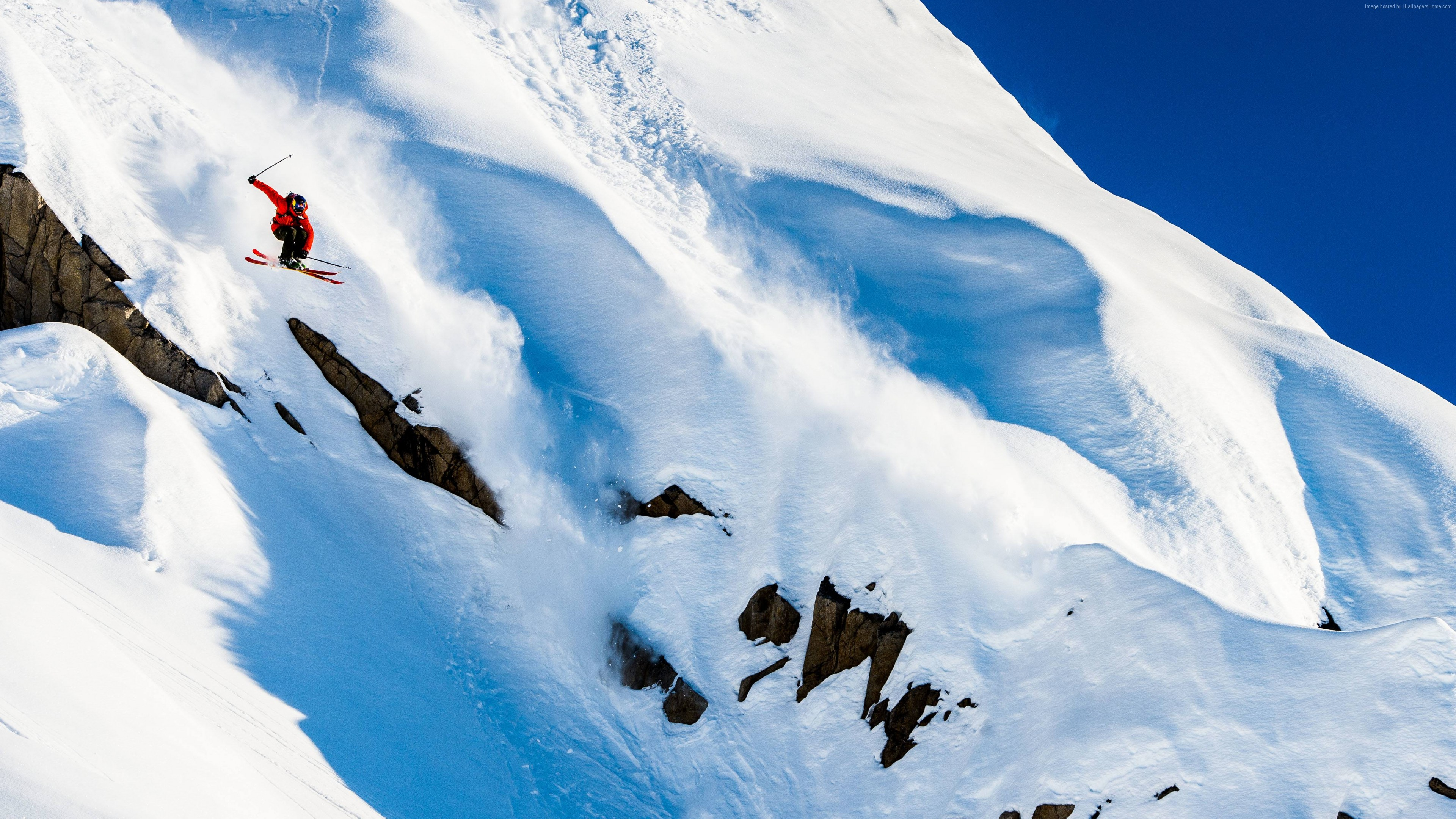 Wallpaper Markus Eder, 5k, 4k wallpaper, skiing, Days of my youth, mountains, snow, winter, Sport