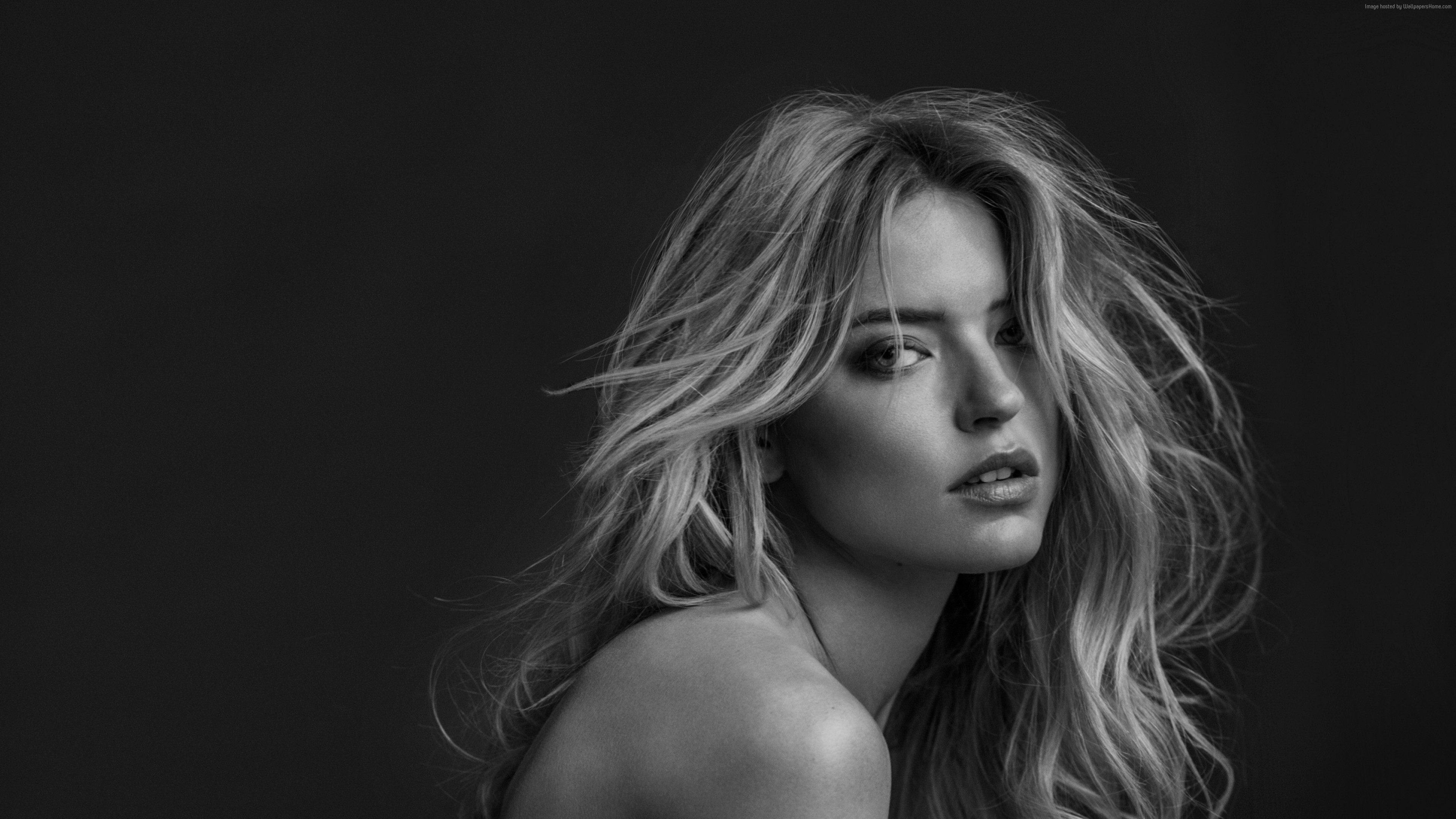 Wallpaper Martha Hunt, hot, 4k, Girls