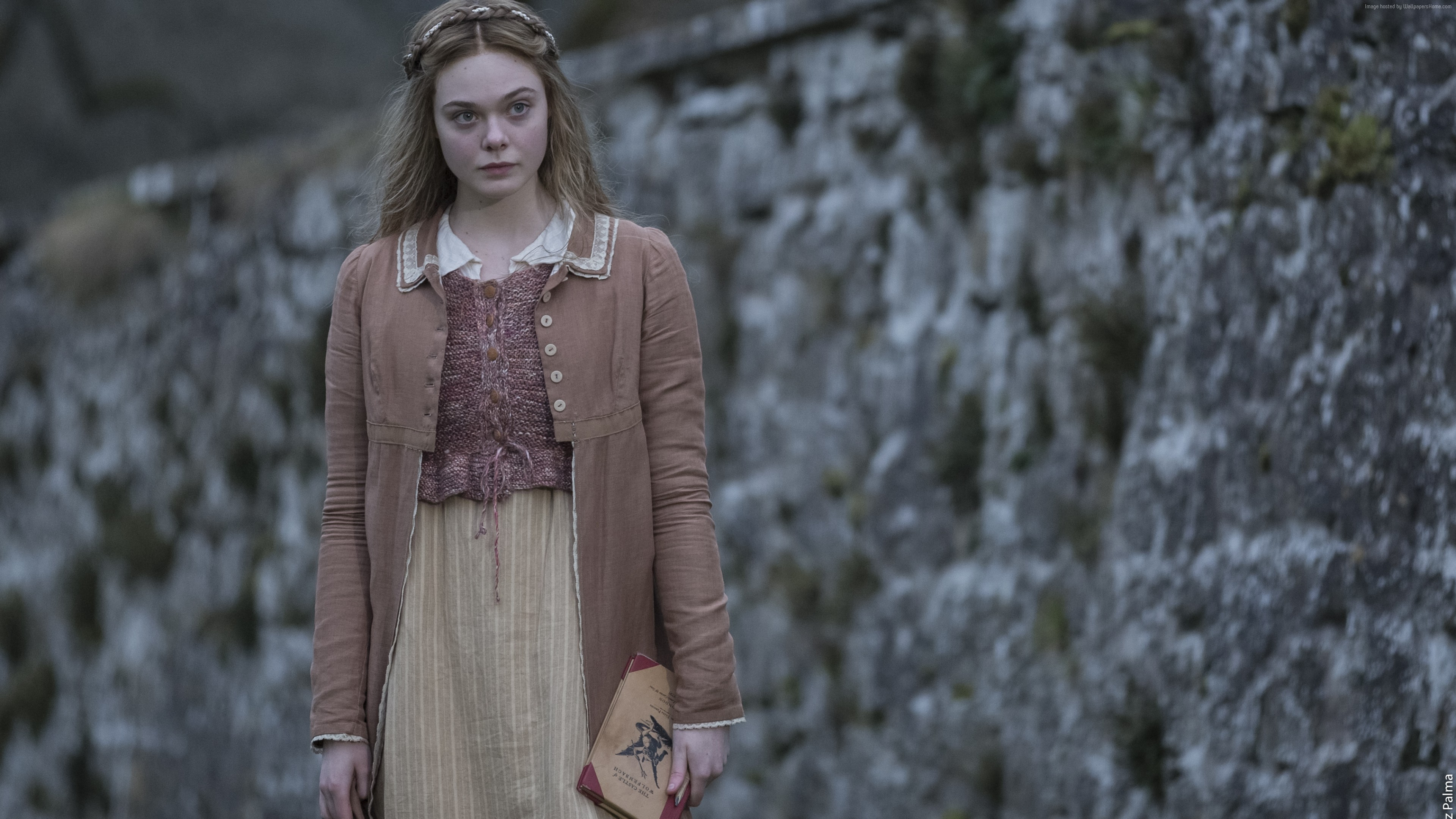 Wallpaper Mary Shelley, Elle Fanning, 4K, Movies