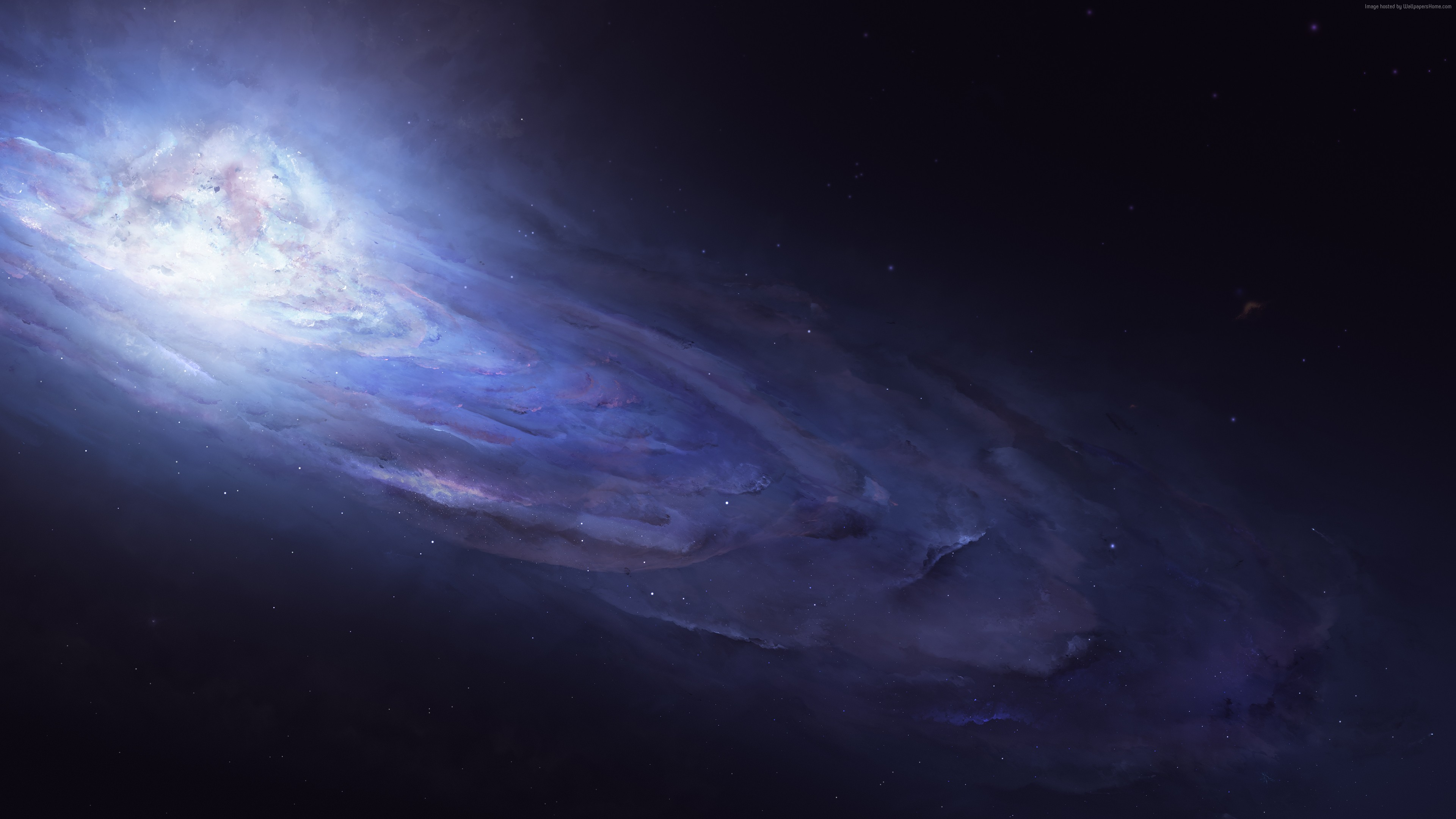 Wallpaper Nebula, space, stars, Andromeda, Space