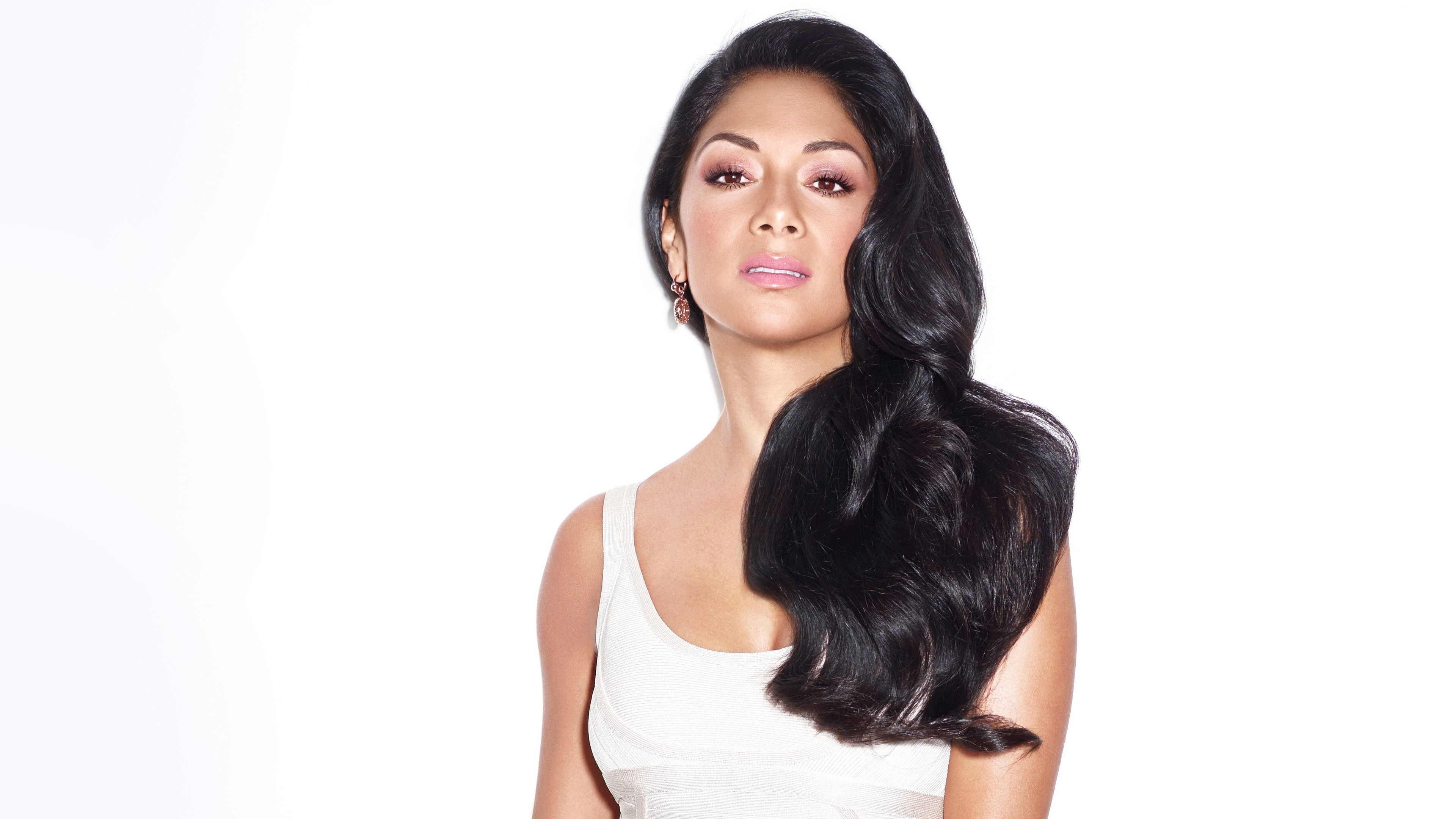 Wallpaper Nicole Scherzinger, singer, artist, model, Music