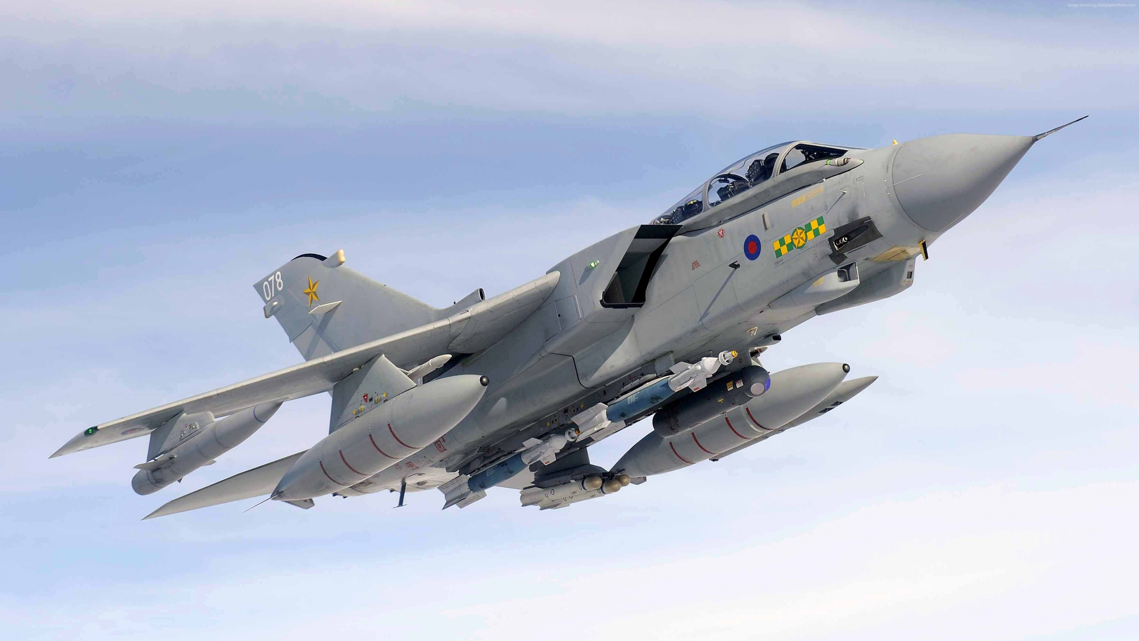 Wallpaper Panavia Tornado GR.4, fighter aircraft, British Air Force, Military