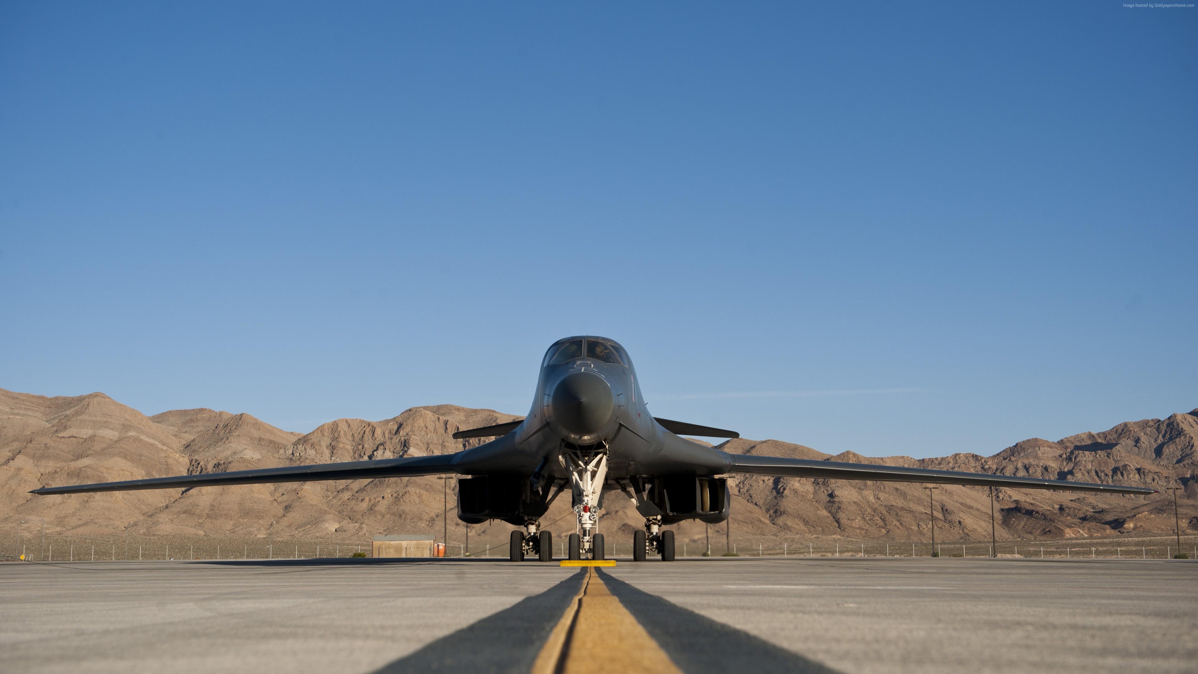 wallpaper rockwell b-1 lancerr, fighter aircraft, u.s. air force