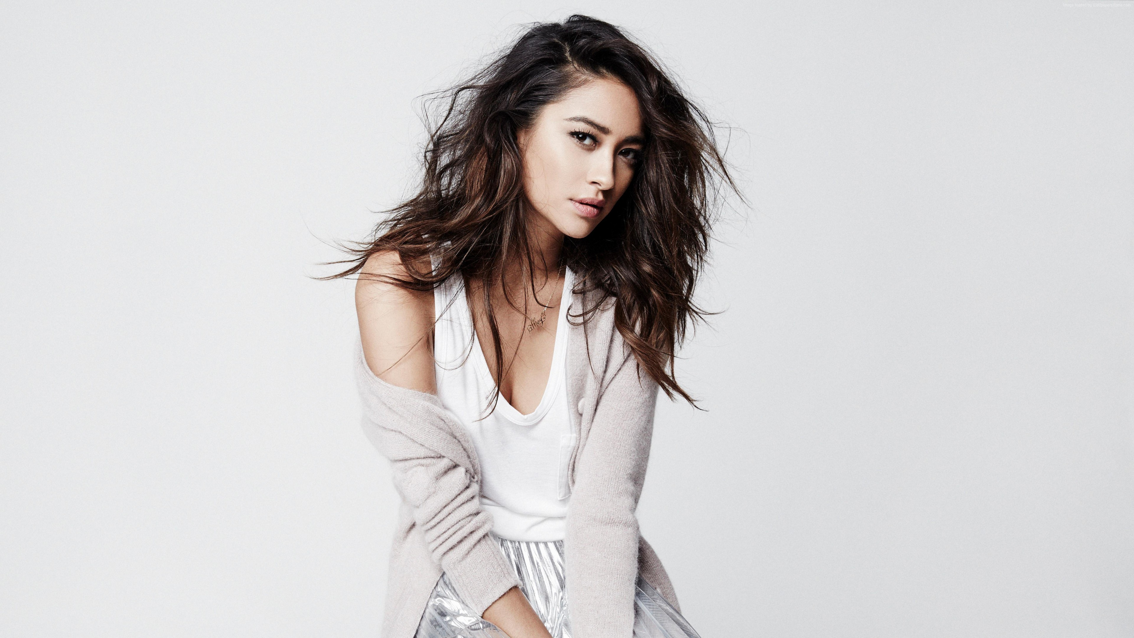 Wallpaper Shay Mitchell, hot, 4k, Girls