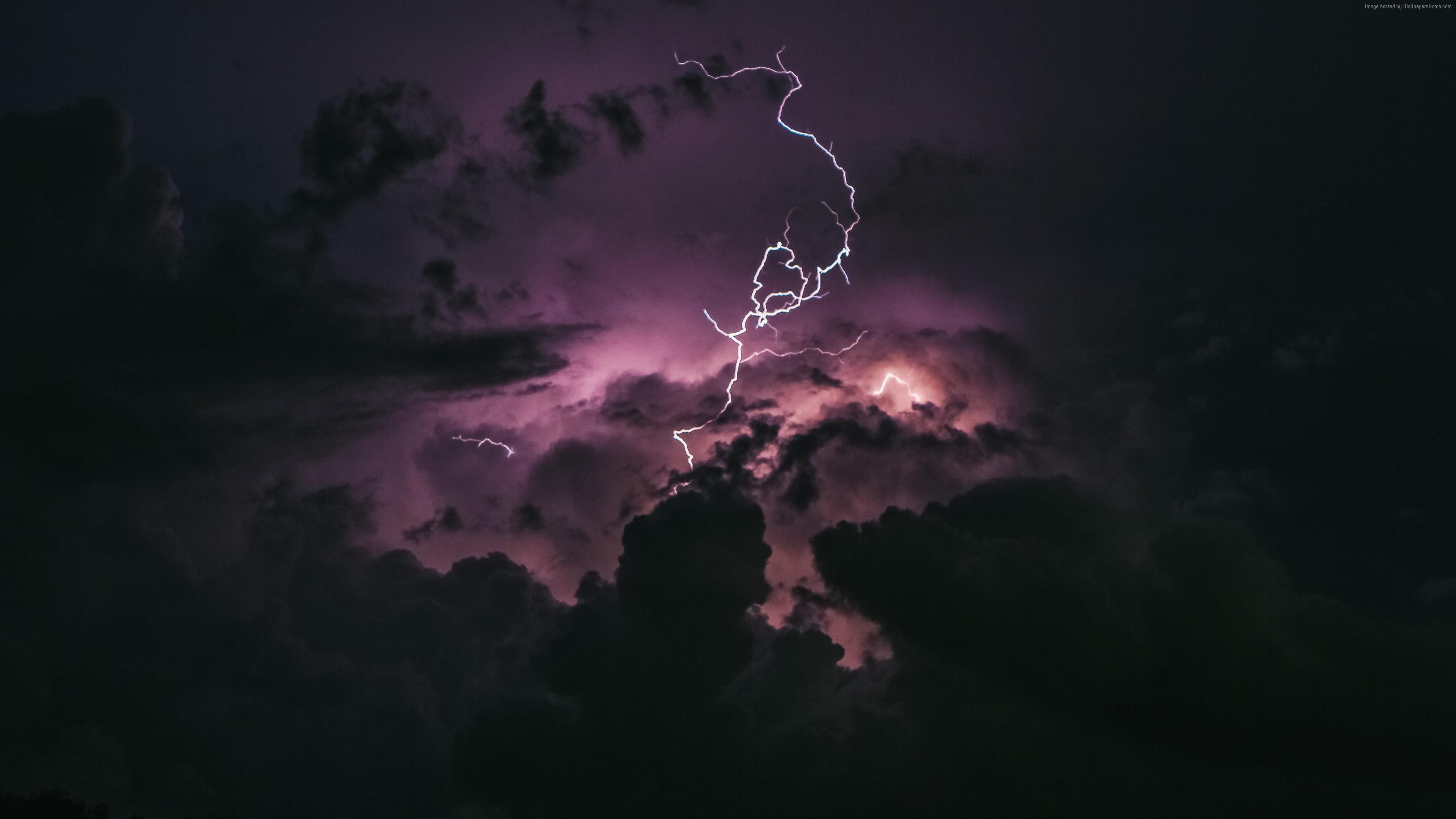 Wallpaper Storm Lightning 5K Nature 5k Download