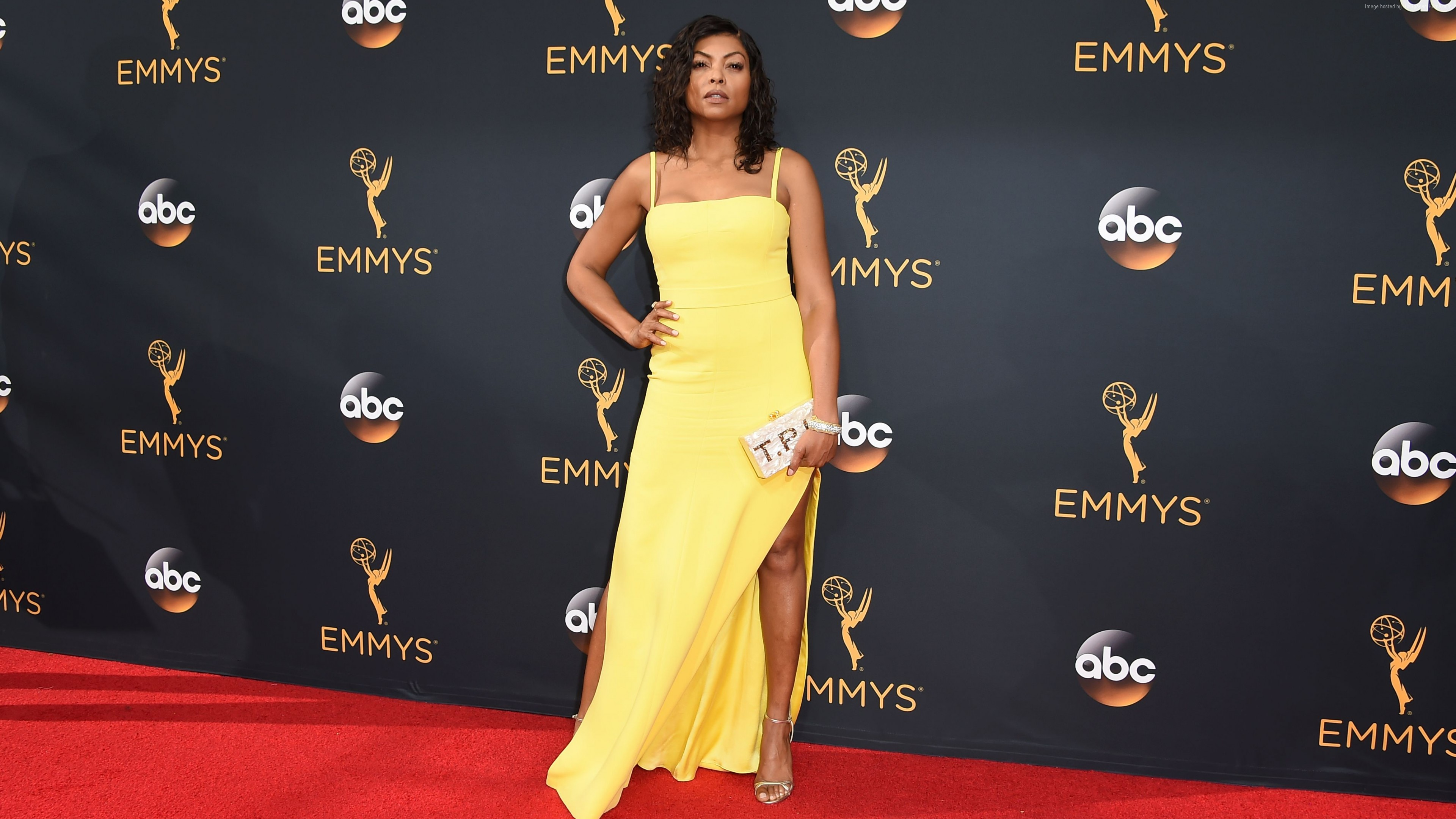 Wallpaper Taraji P. Henson, dress, 4k, Girls