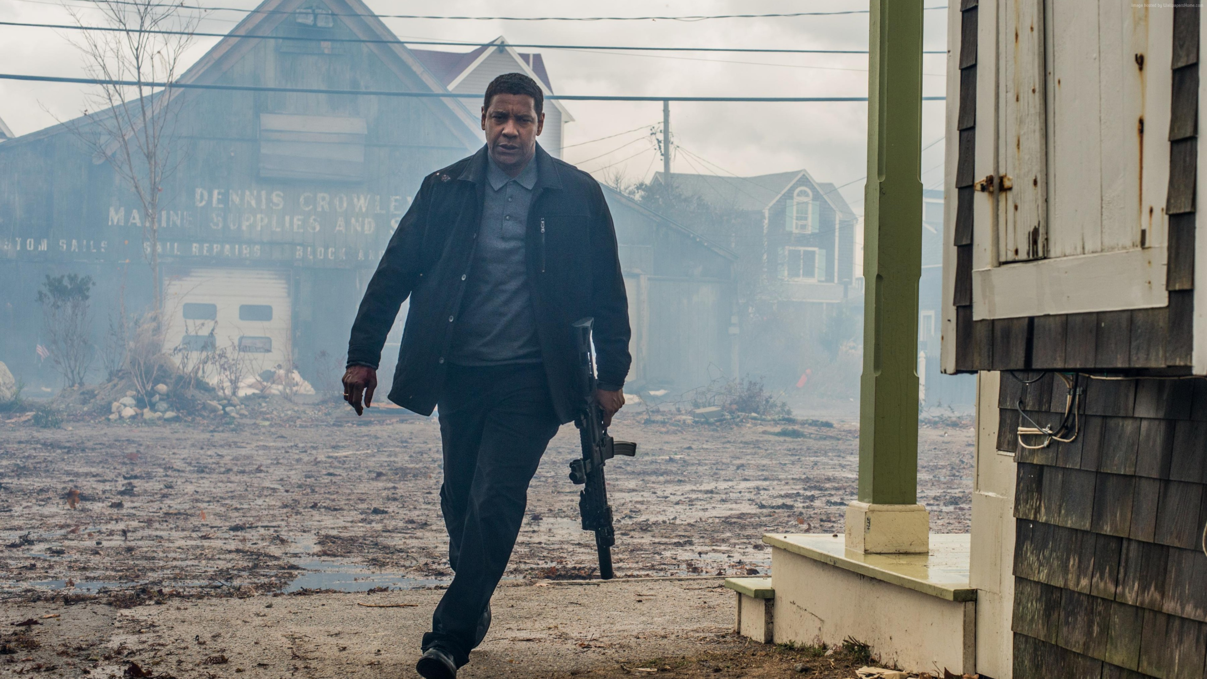 Wallpaper The Equalizer 2, Denzel Washington, 4K, Movies