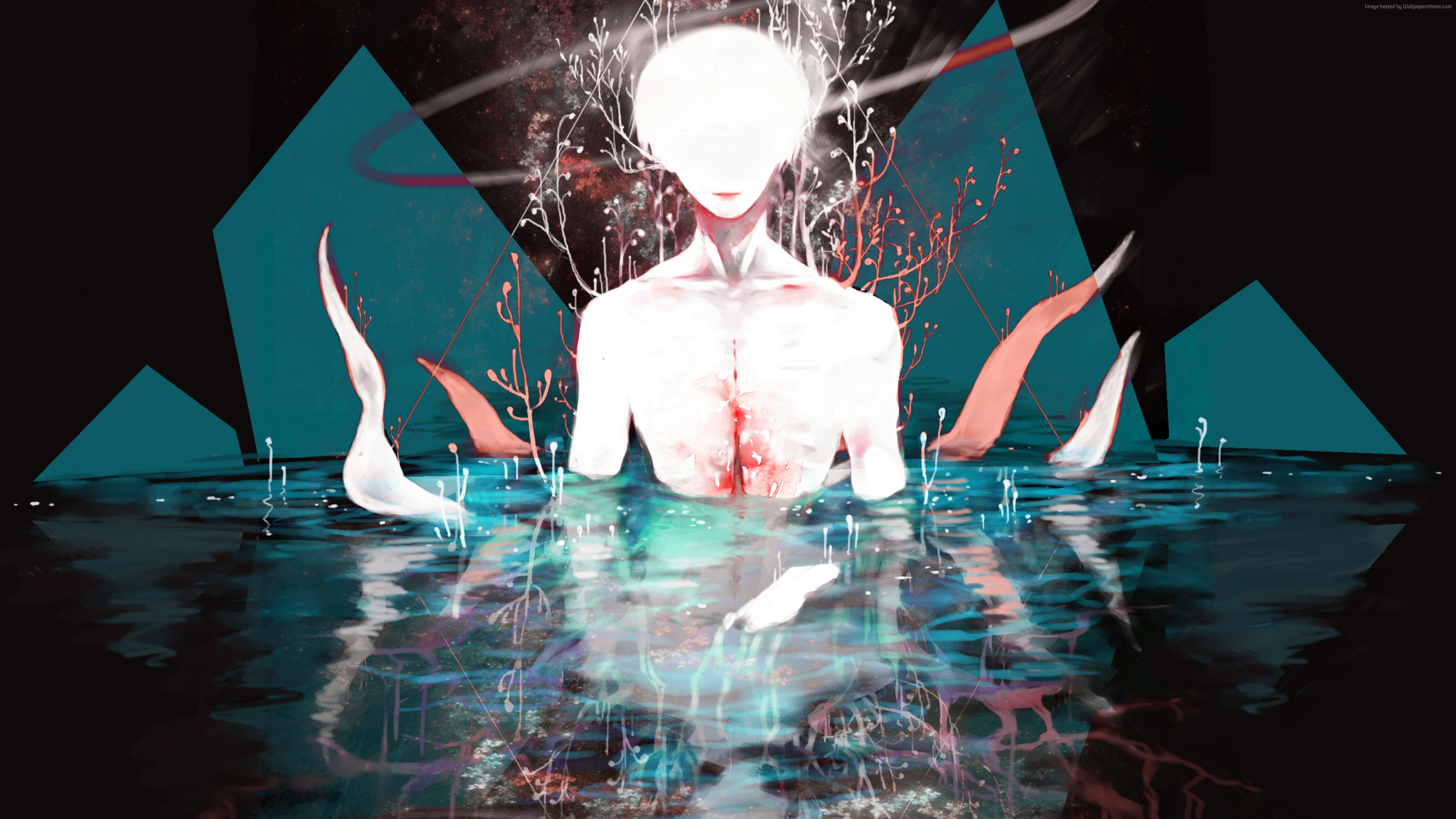 Wallpaper Tokyo Ghoul Ken Kaneki 4k Art Wallpaper Download High Resolution 4k Wallpaper