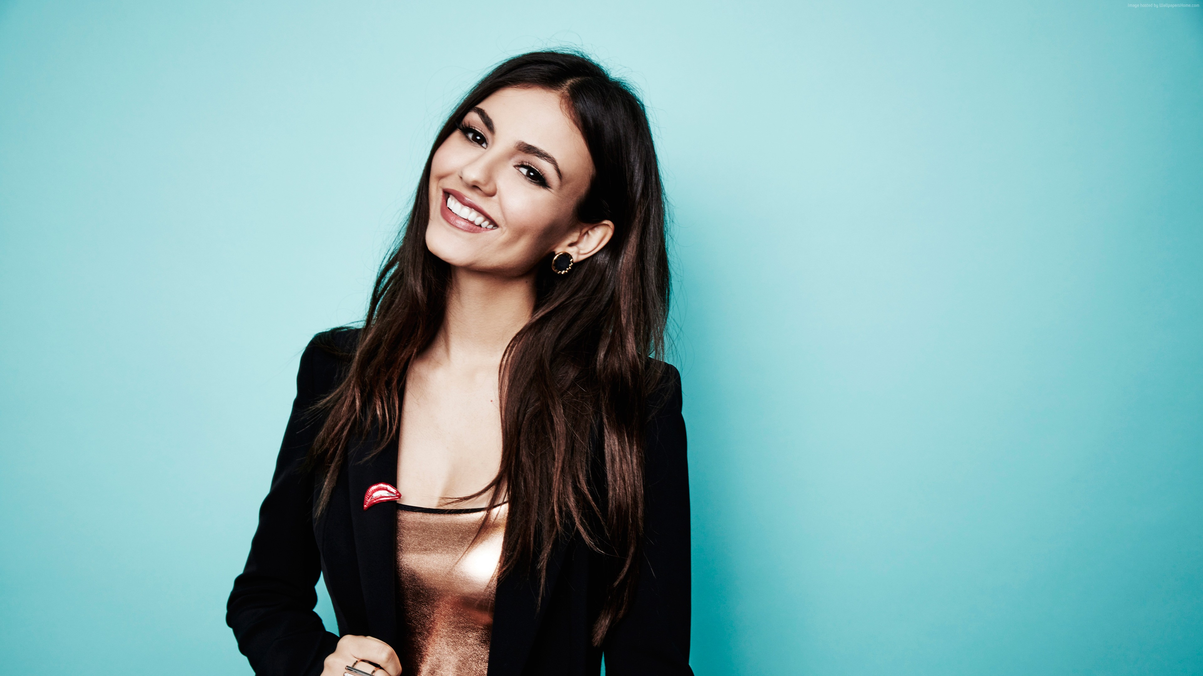 Wallpaper Victoria Justice, hot, 4k, Girls