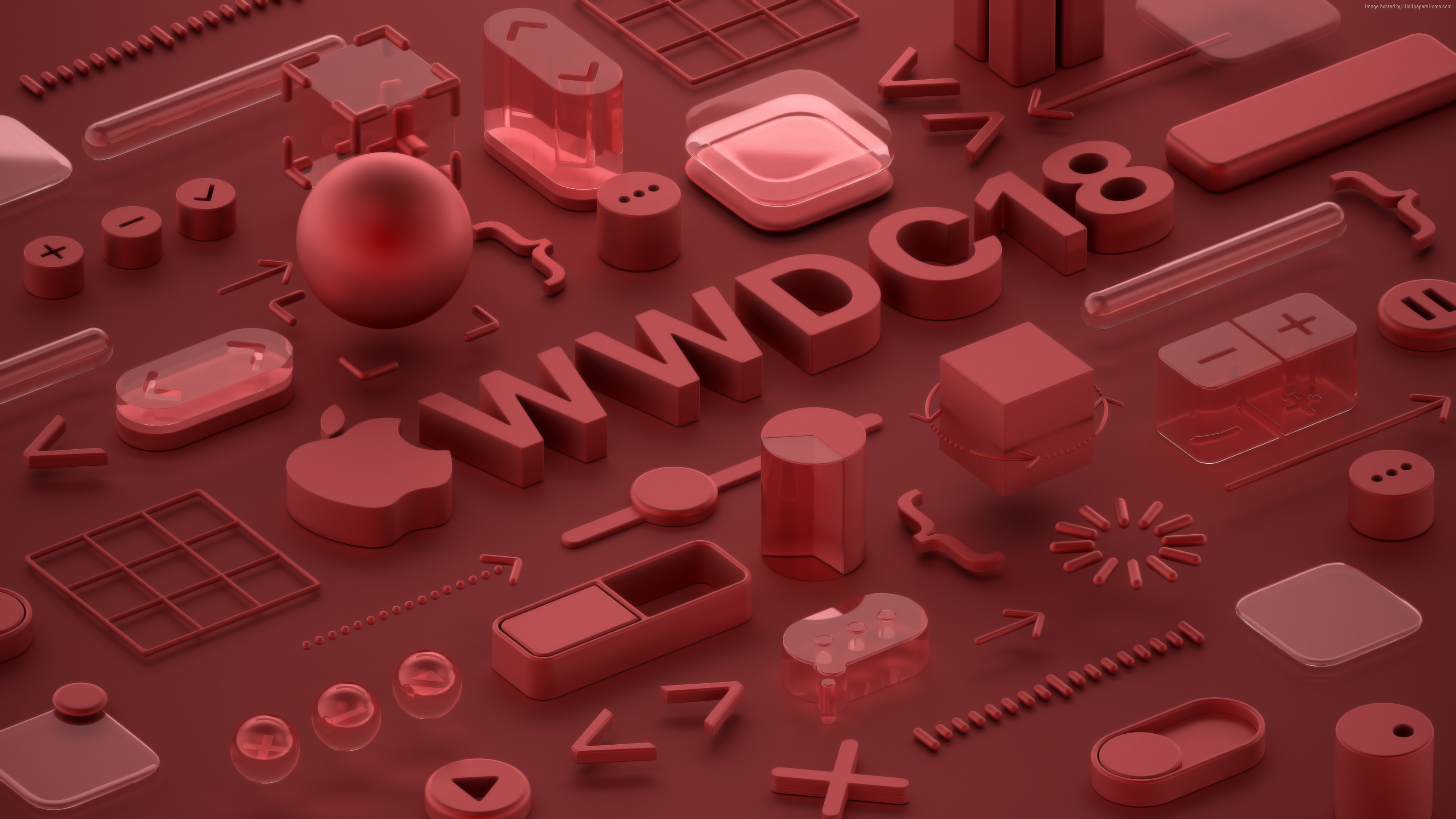 Wallpaper WWDC 2018, Bronze, 3D, 4K, Hi-Tech Wallpaper