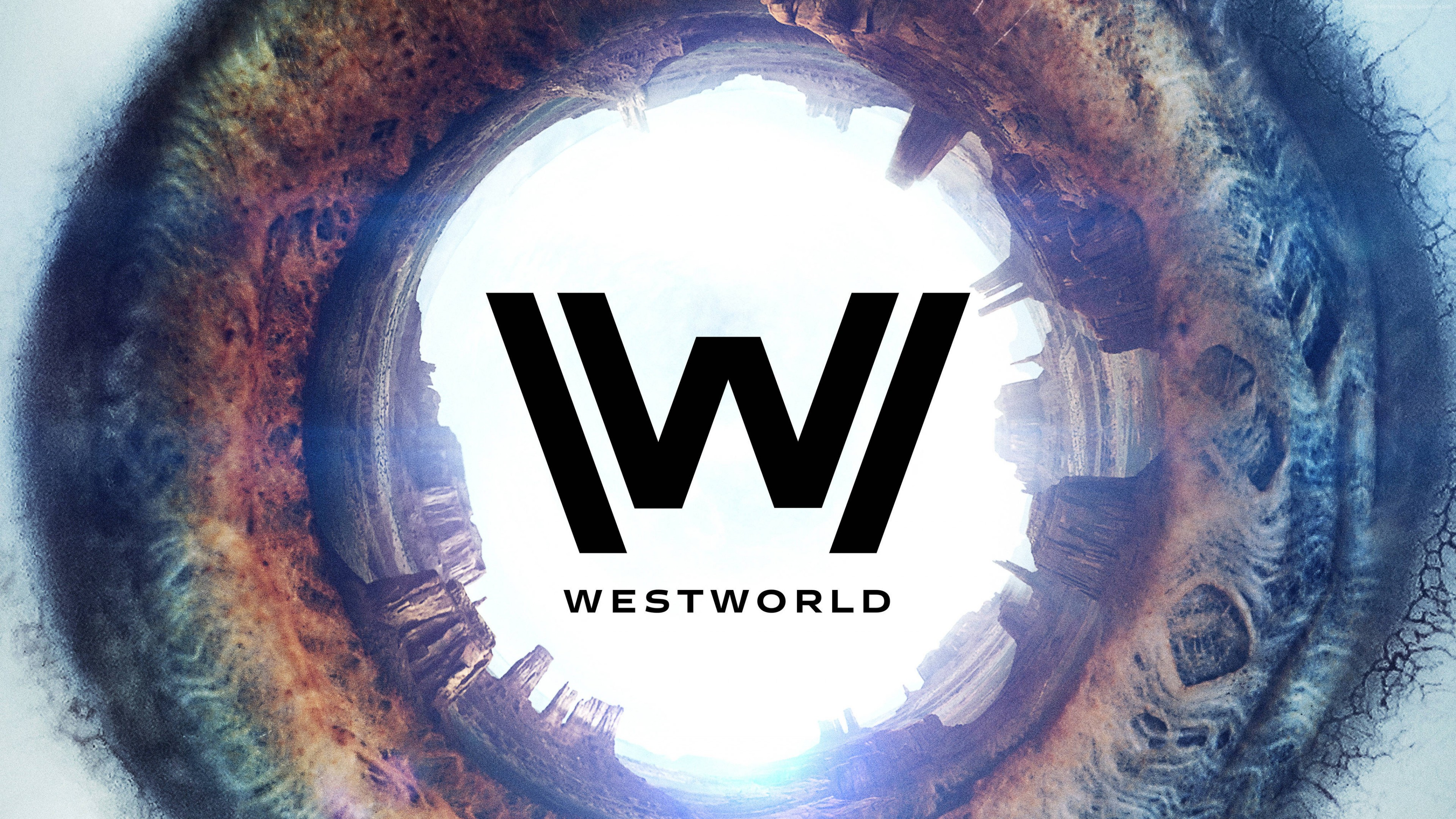 Wallpaper Westworld Season 2, Logo, TV Series, 4K, Movies