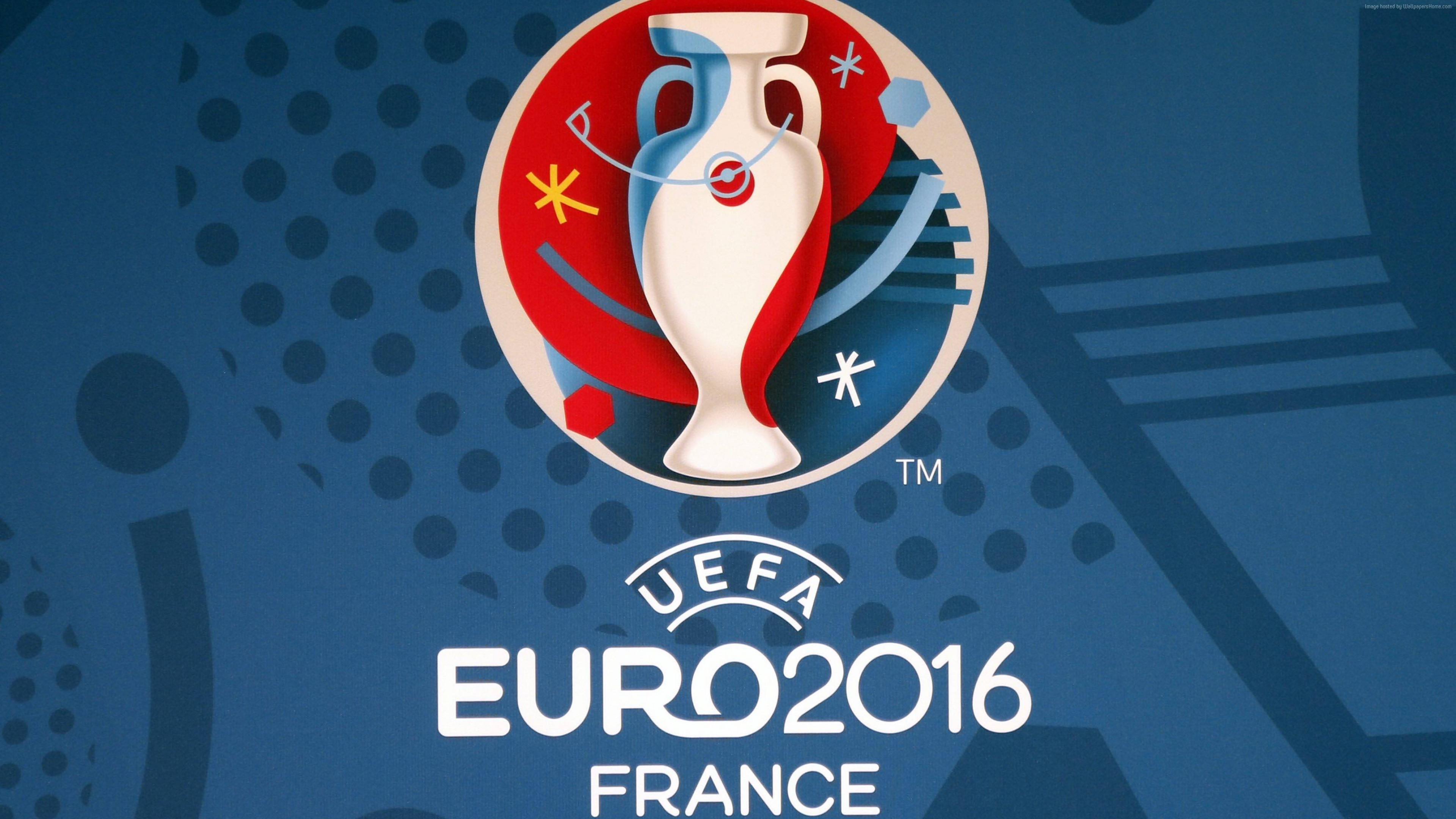 Wallpaper euro 2016, football, logo, France, Geneva, Sport