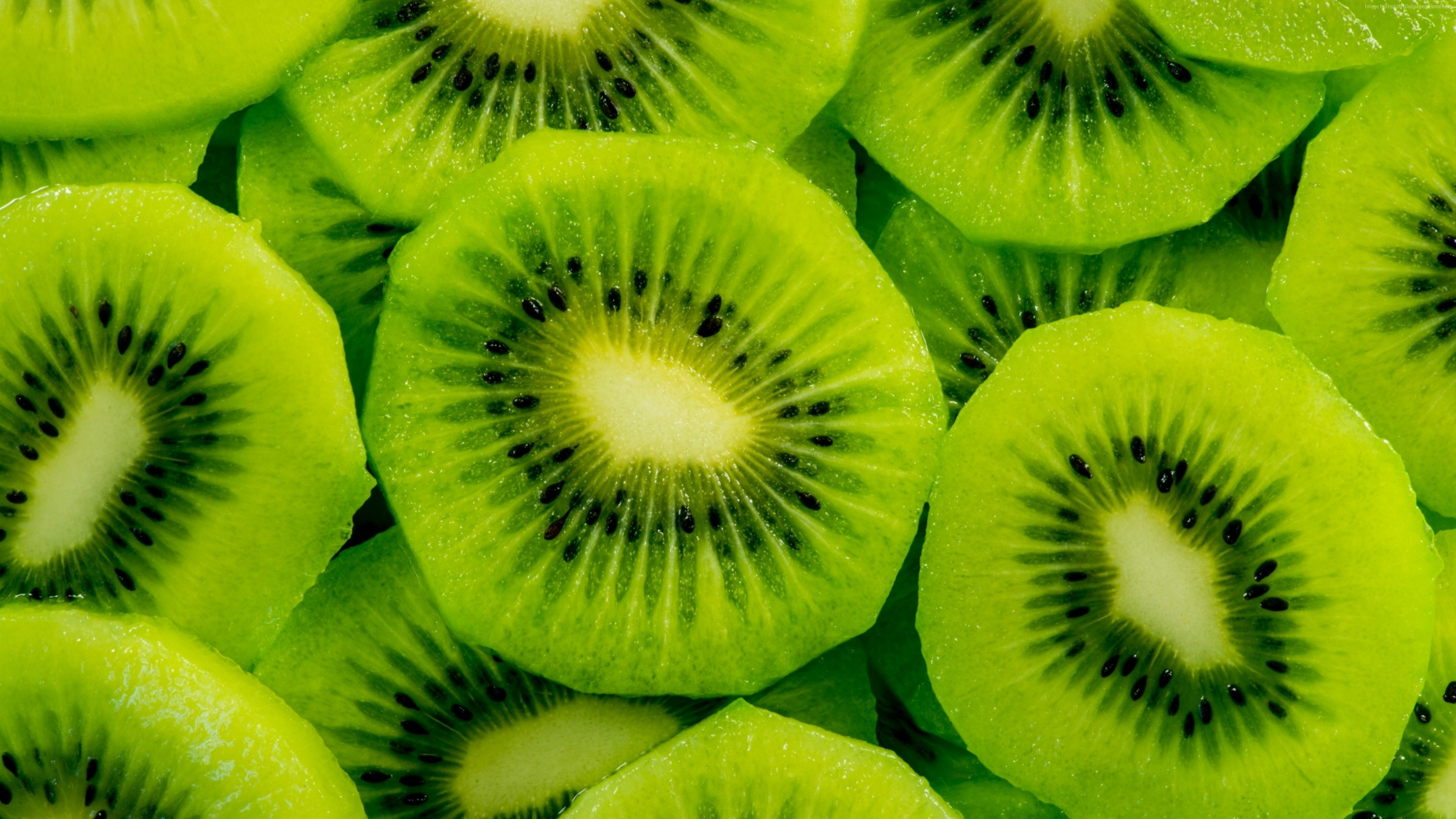 Wallpaper kiwi, fruit, 4k, Food