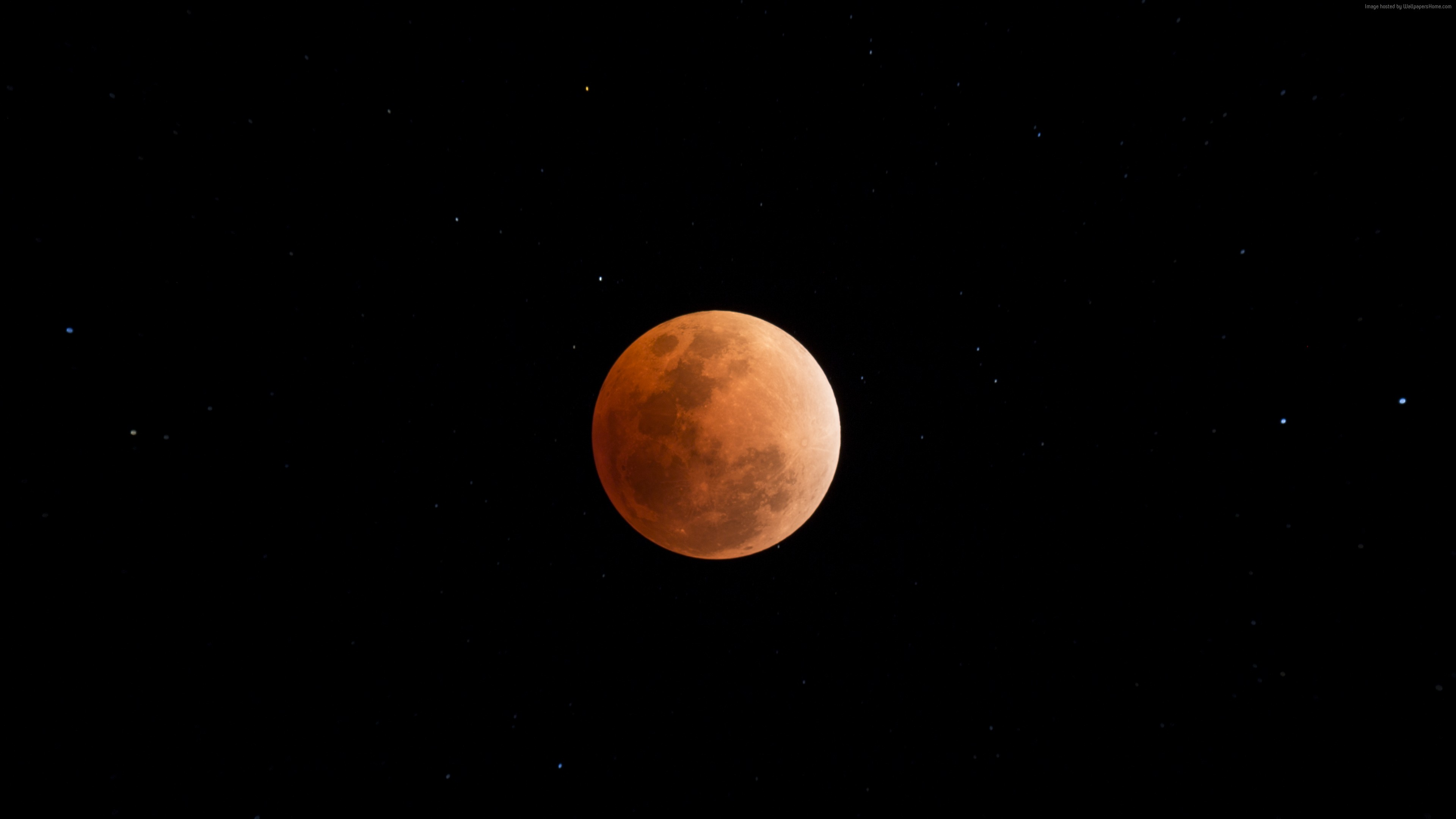 wallpaper moon eclipse, space, 4k, space 4k, moon eclipse, space