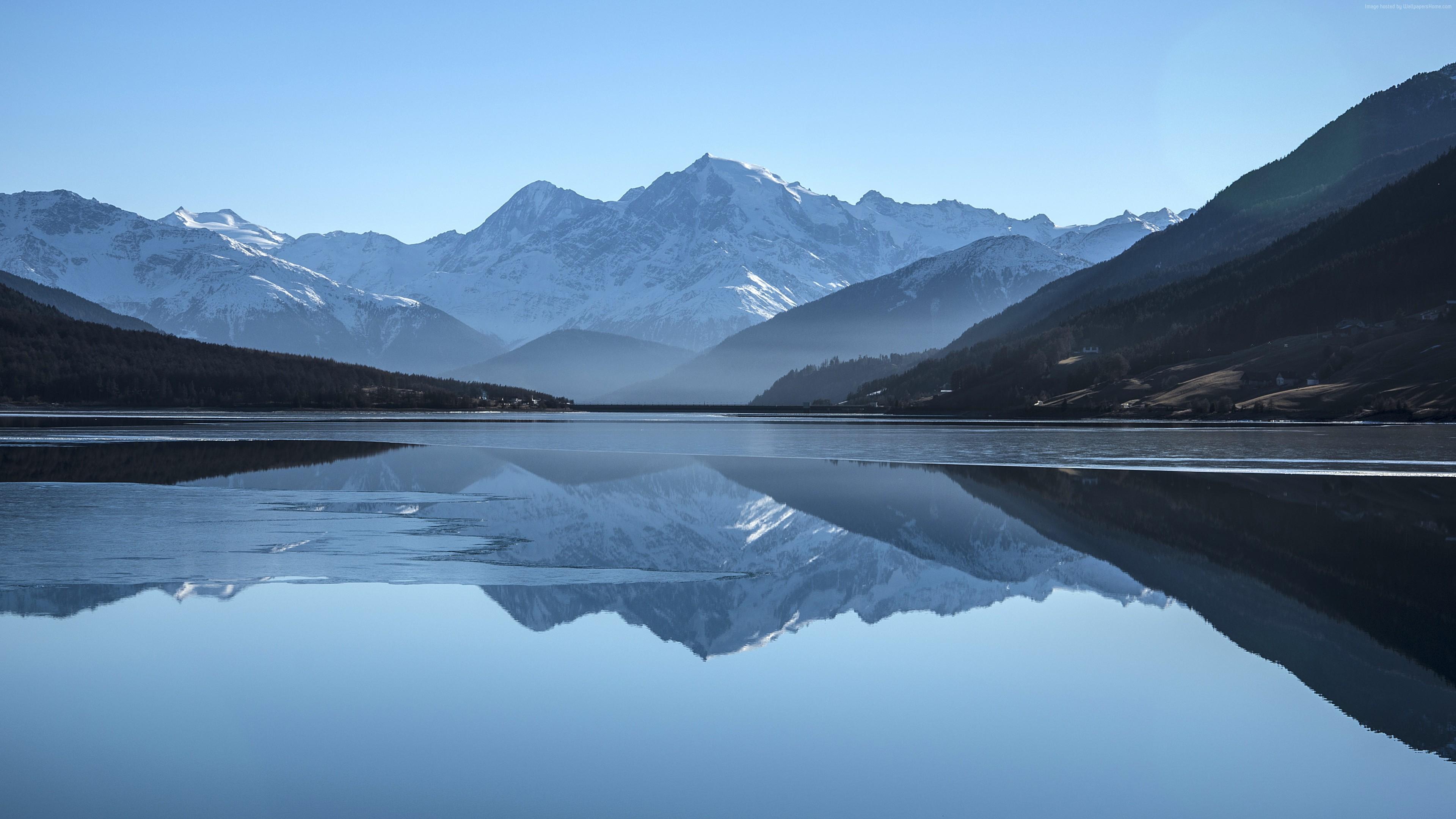 Wallpaper Mountains Lake 5k Nature Wallpaper Download High Resolution 4k Wallpaper