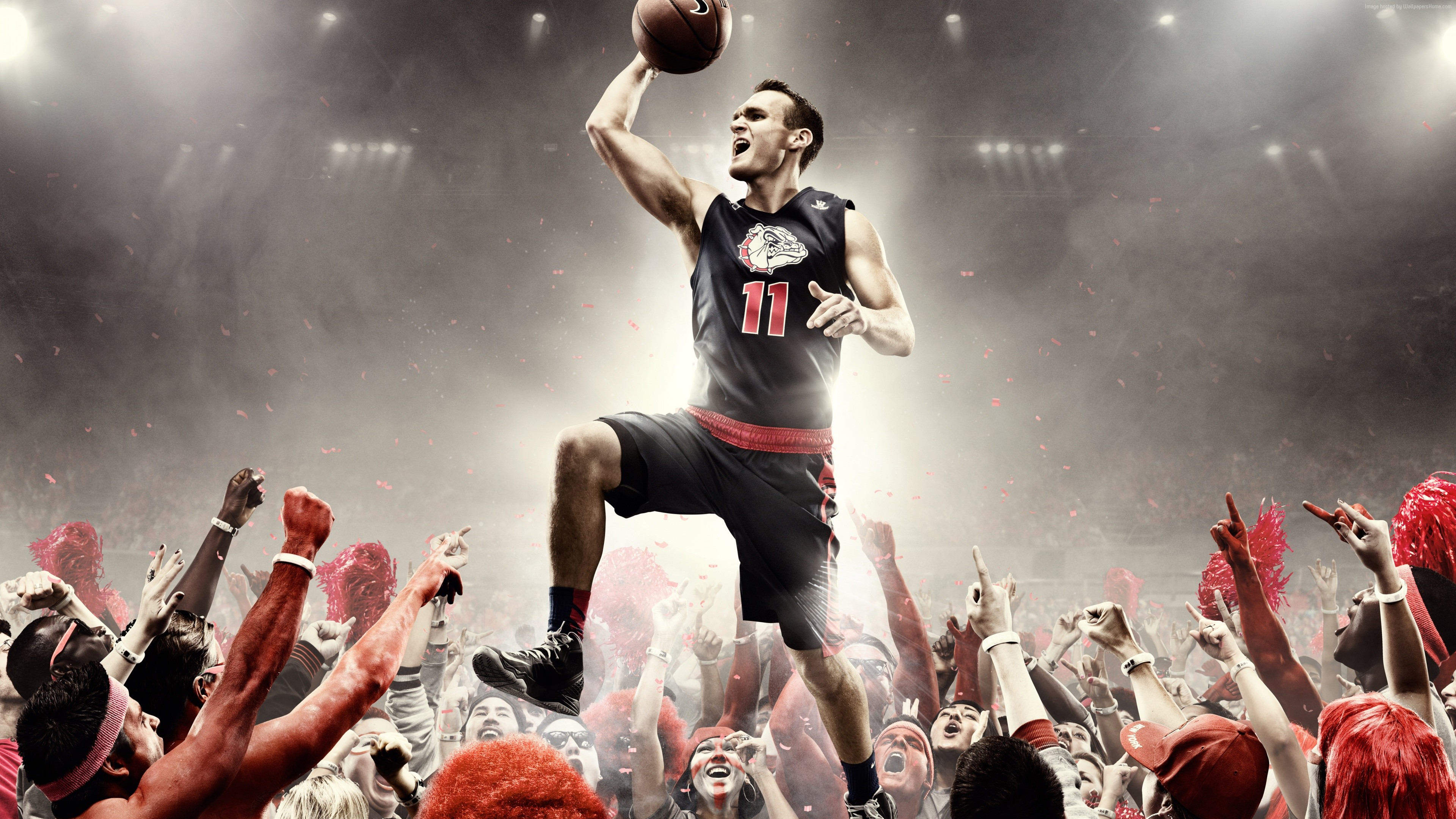 Wallpaper nike, basketball, bounce, point, Sport
