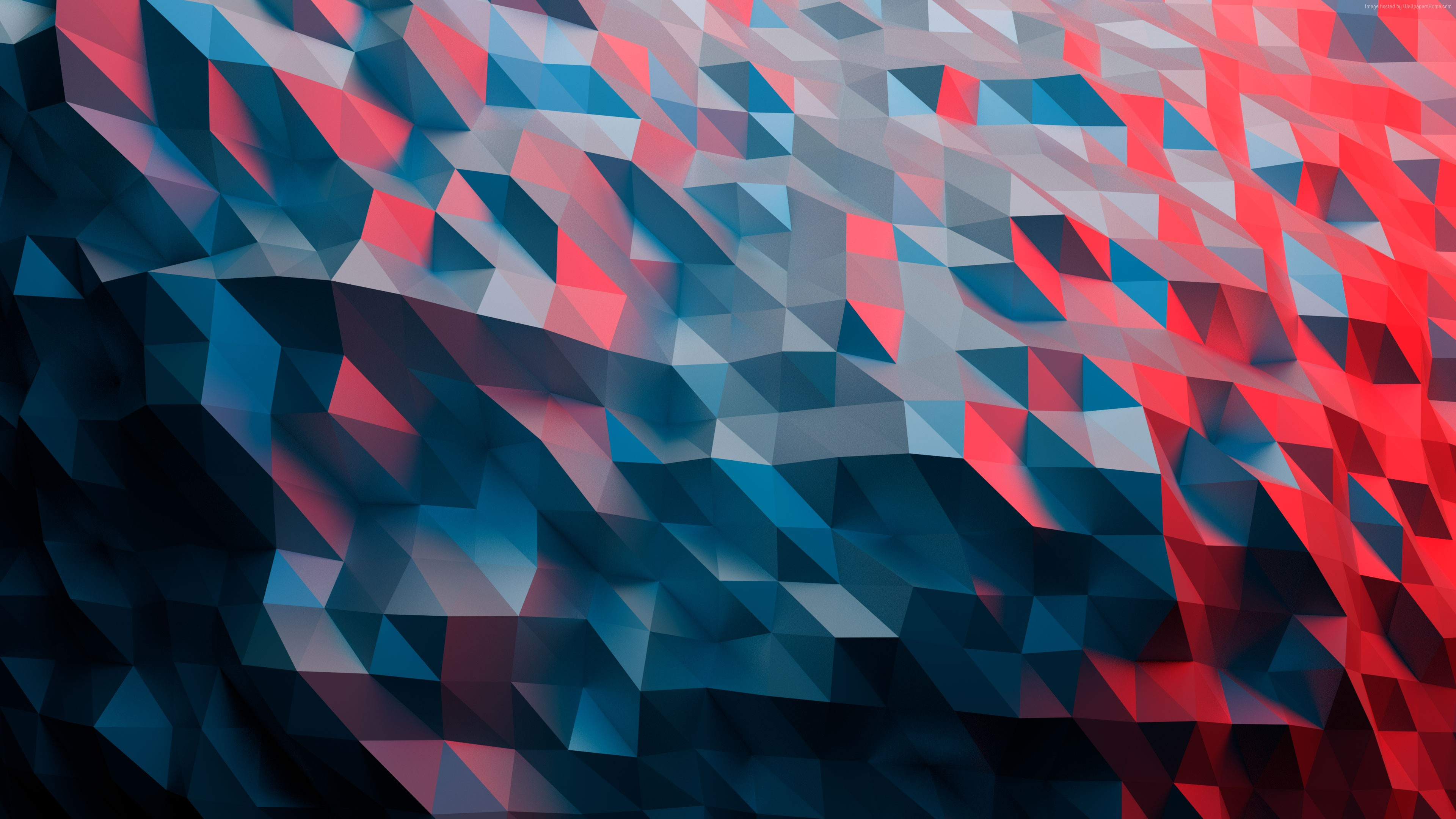 Wallpaper polygon, 4k, Abstract Wallpaper Download - High ...