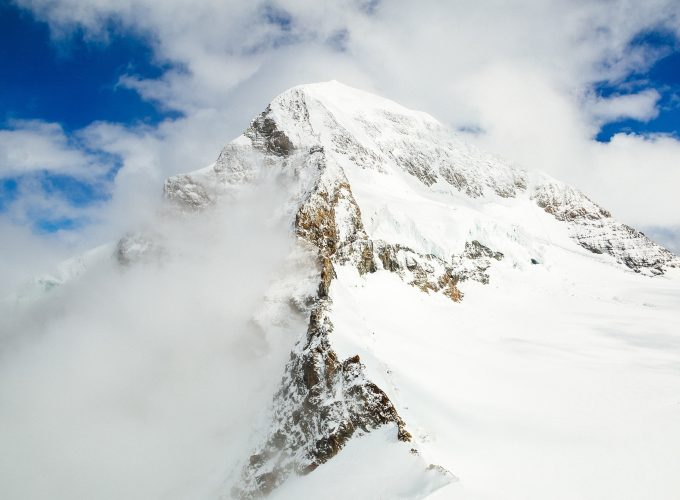 Wallpaper Snow Mountains 4k HD Winter Nature