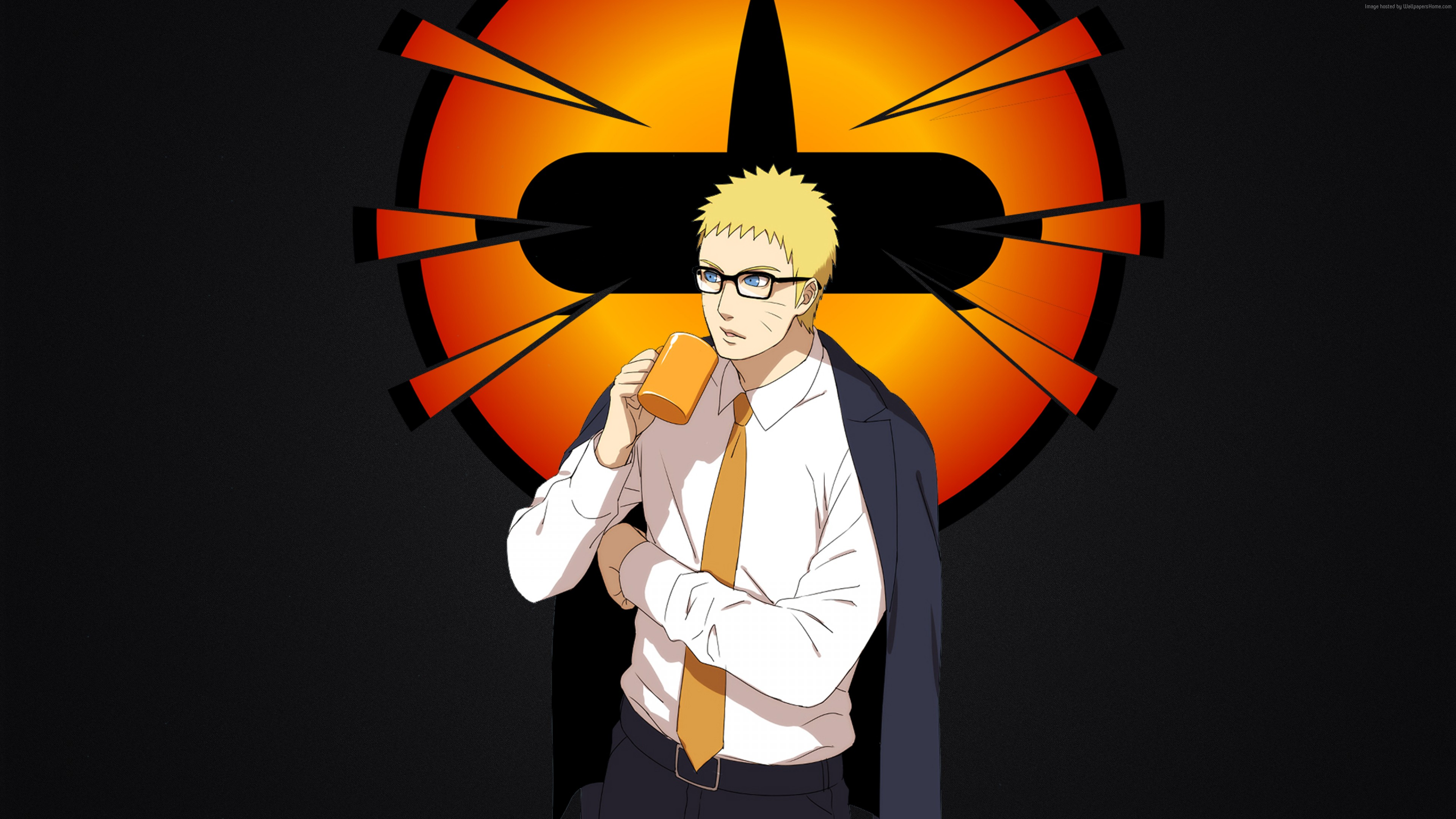 Wallpaper Naruto, anime, Art
