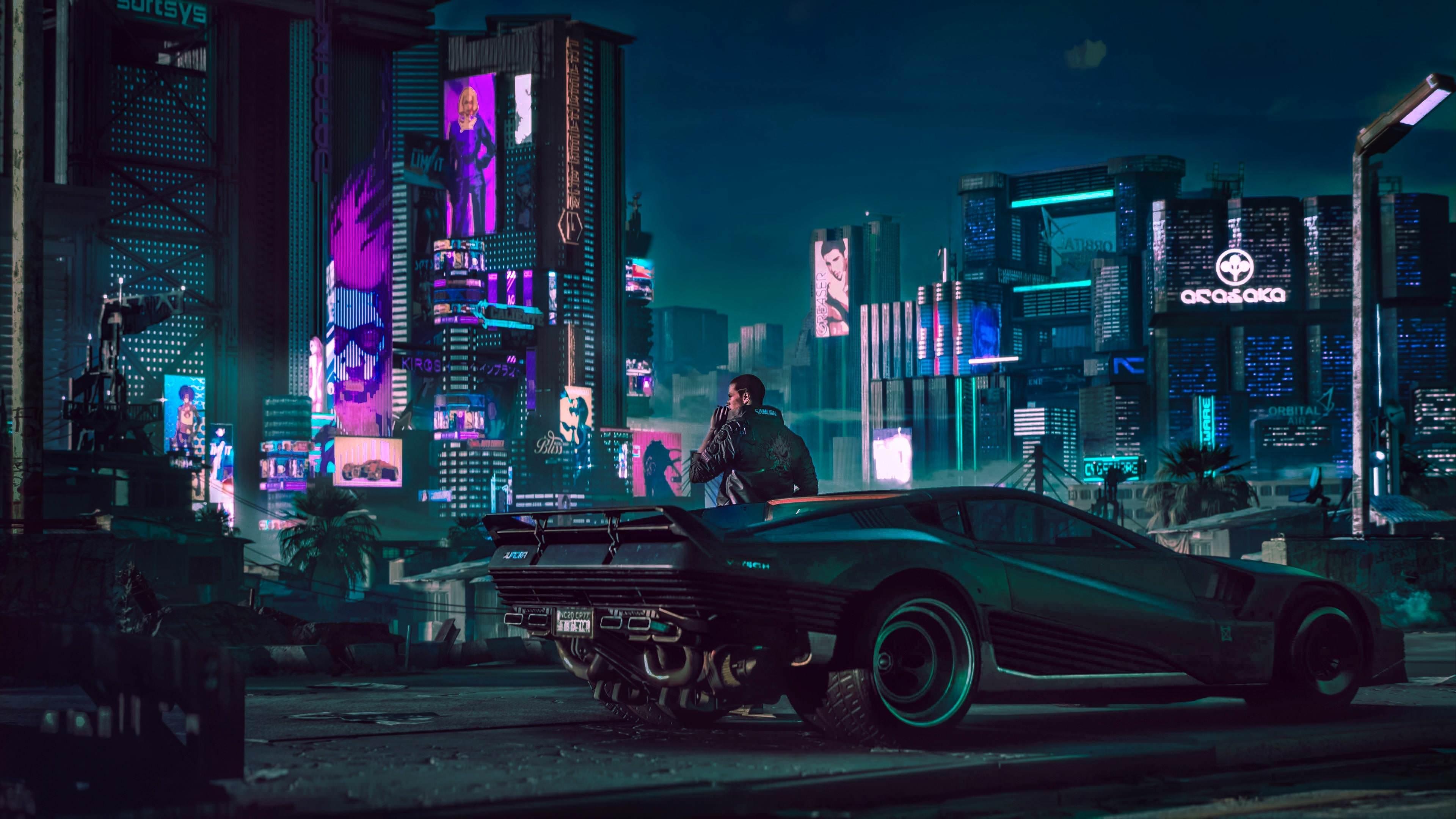 2018 Cyberpunk 2077 4k