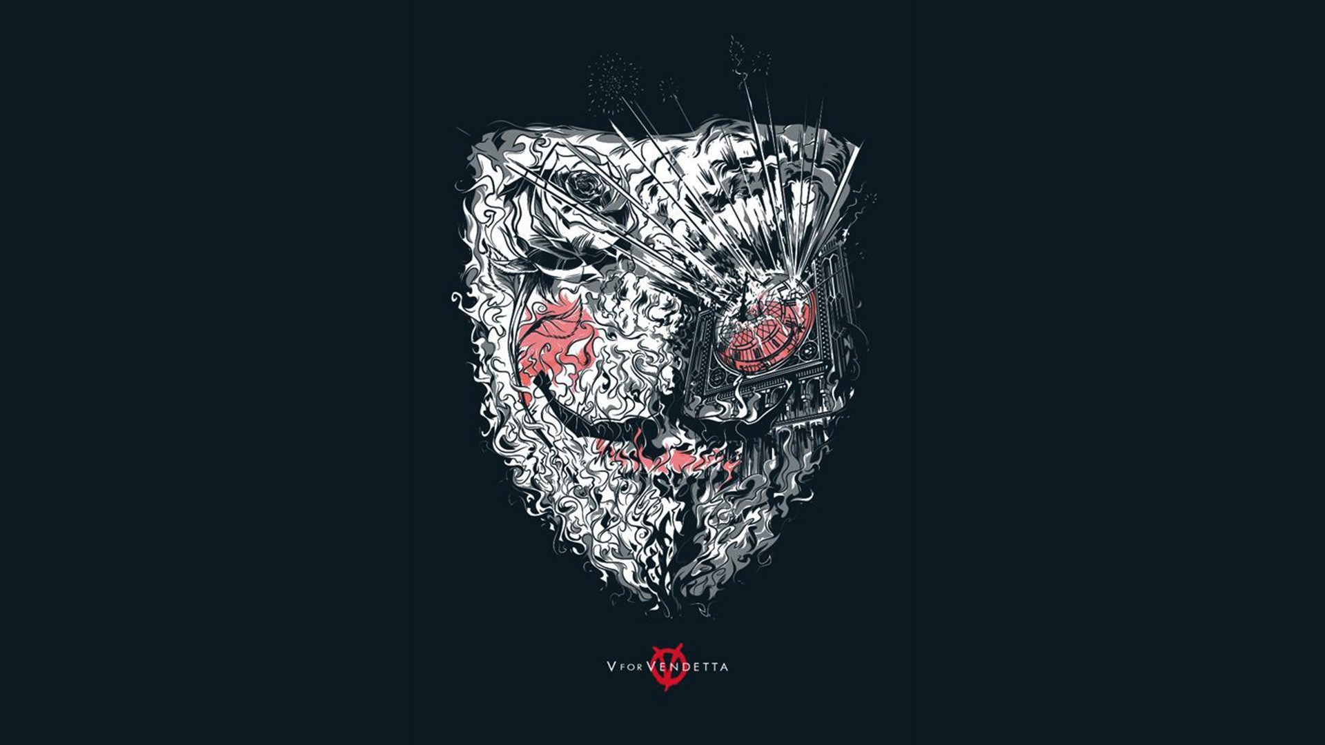 Anonymous V For Vendetta Artwork Illustration Desktop