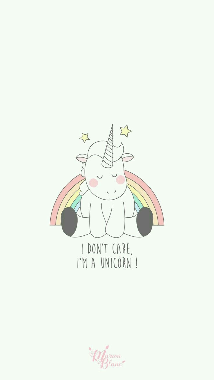 Cute unicorn android iphone