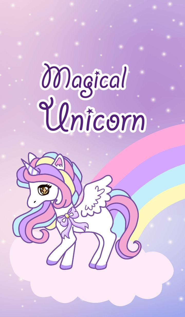 Cute unicorn phone
