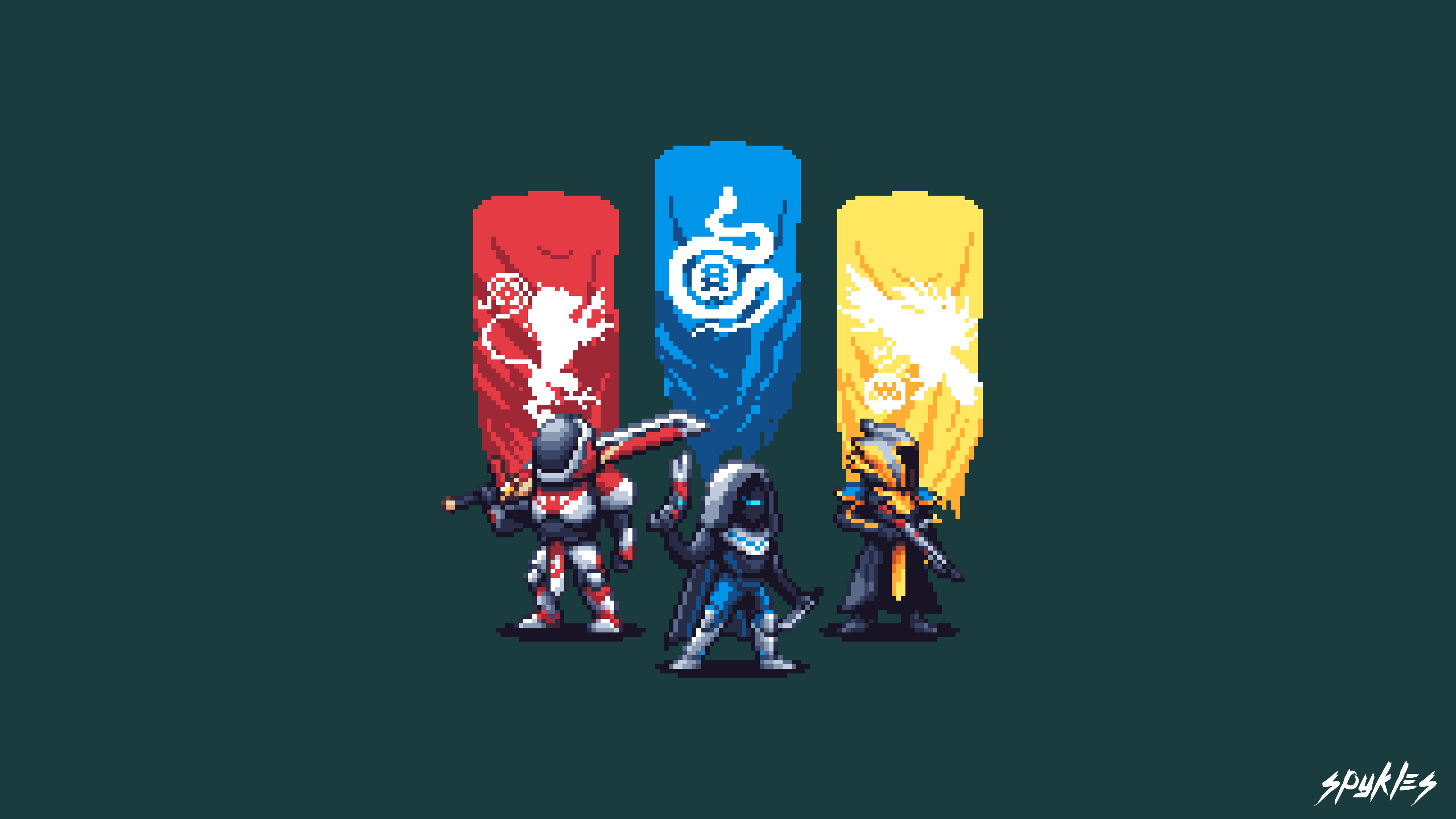 Destiny 2 Pixel Artwork 4k HD Games