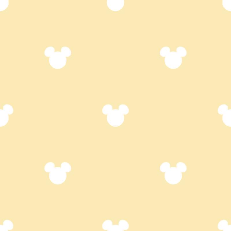Galerie Disney Mickey Mouse Logo Yellow