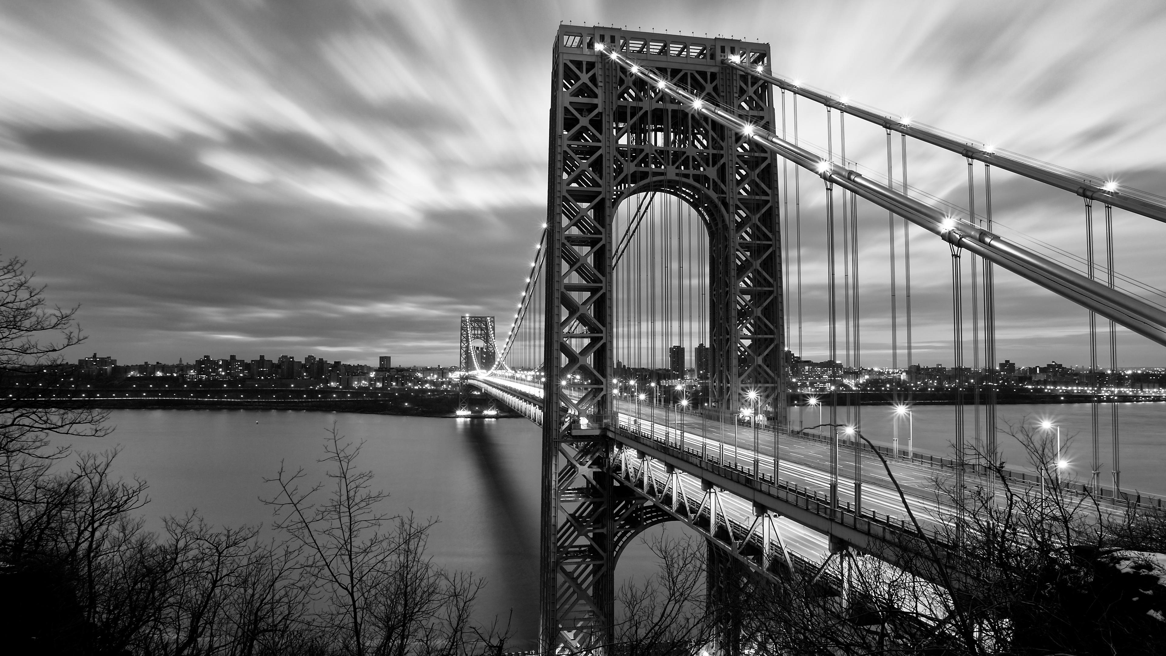 George Washington Bridge 4K Ultra HD Desktop