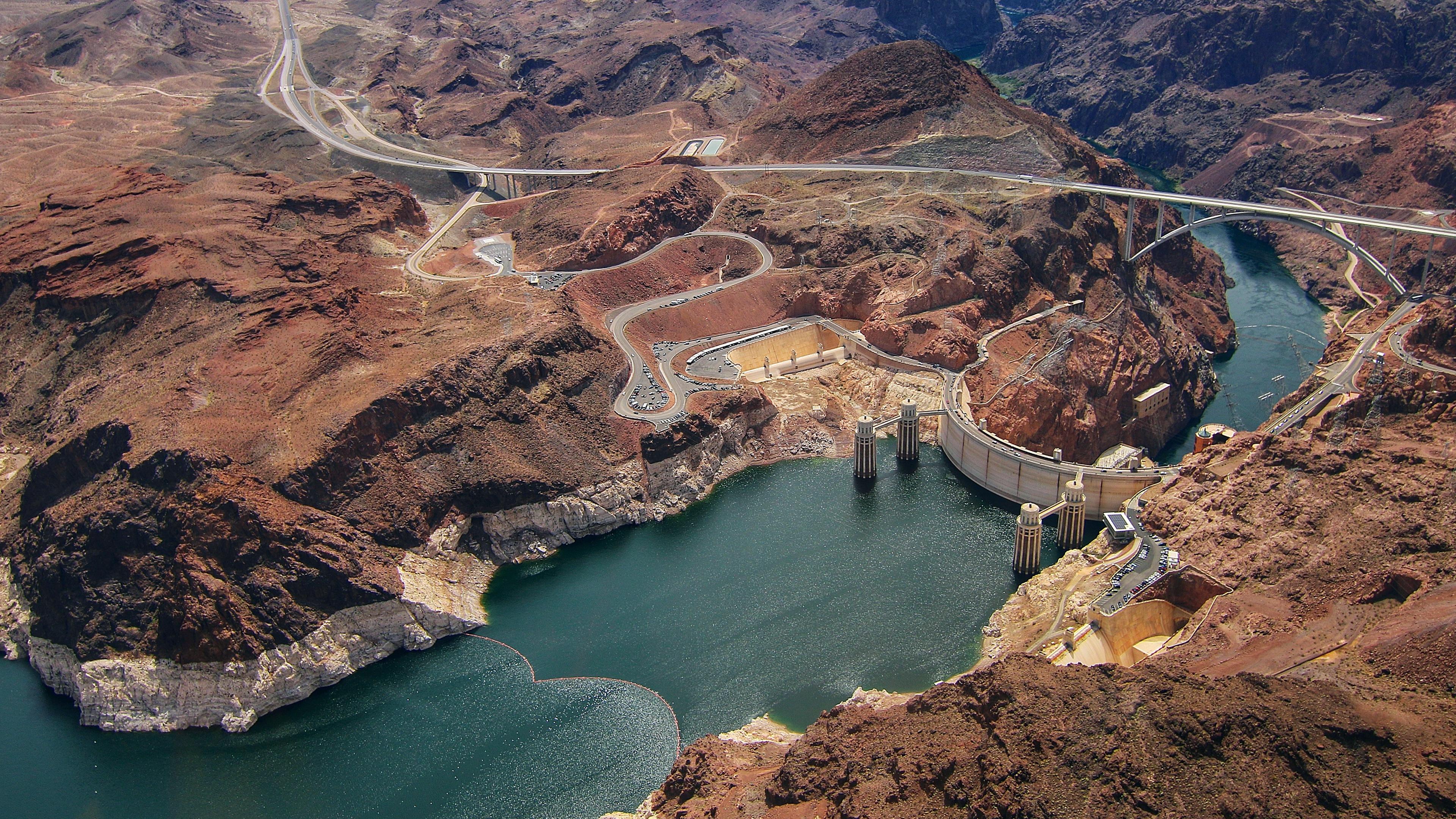 Hoover Dam 4K Ultra HD Desktop