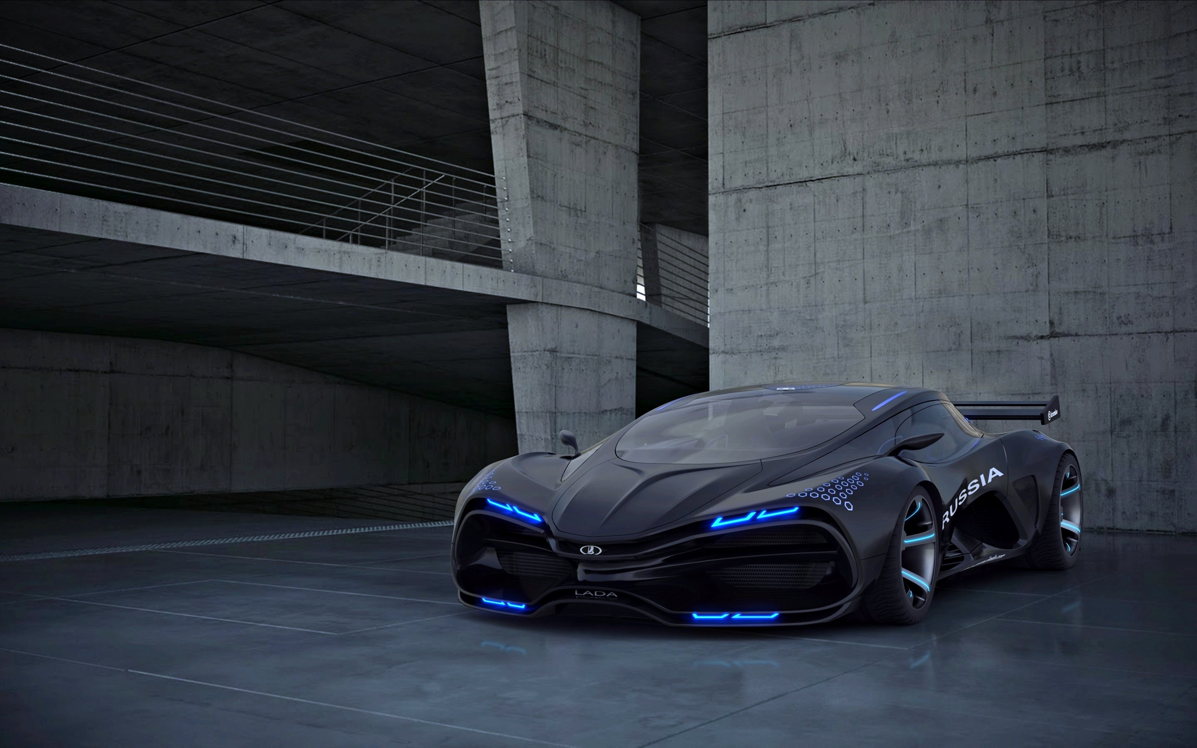 Lada Raven Concept Cars 4K