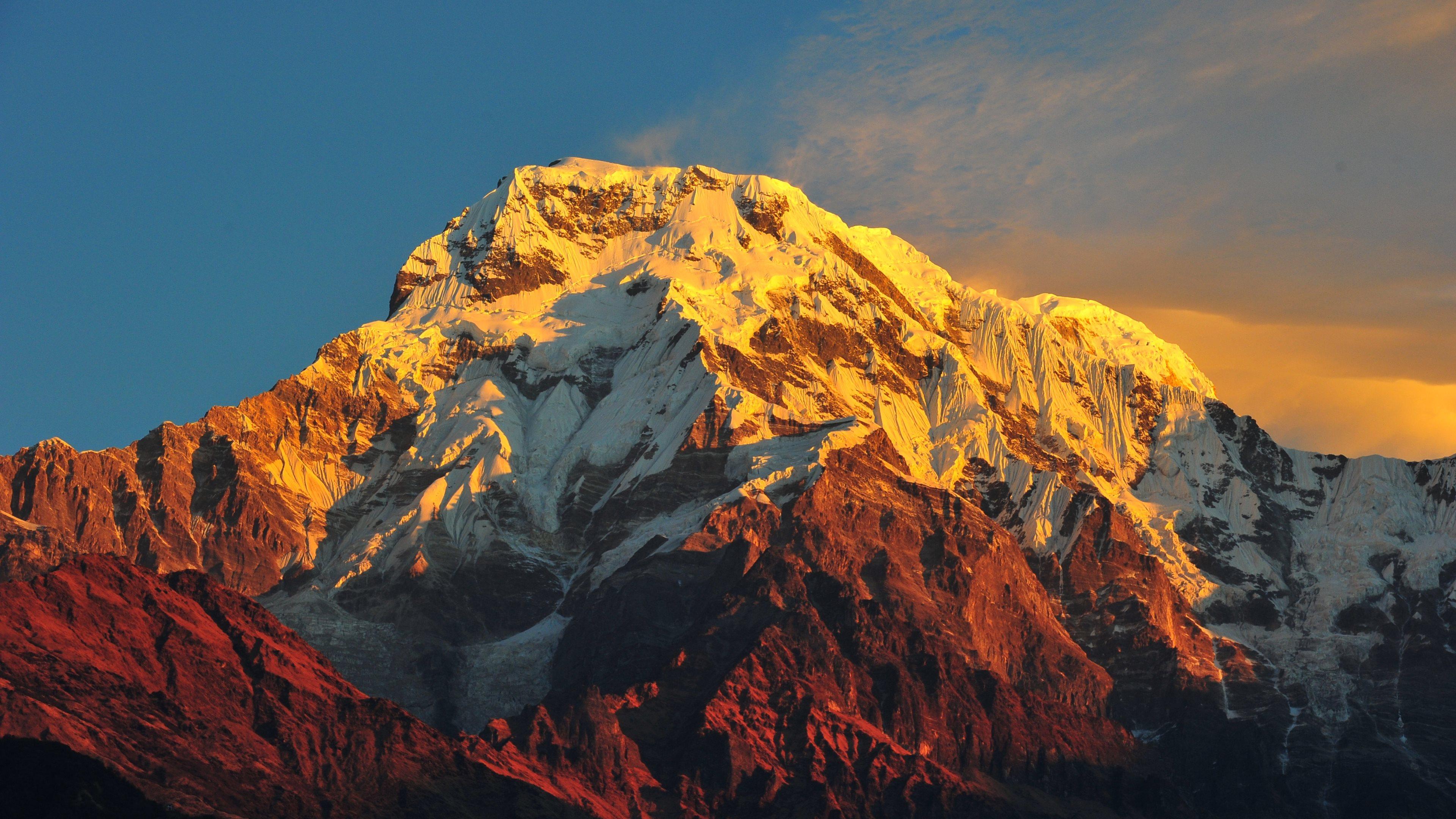 Stunning 4K Mountain Ultra HD